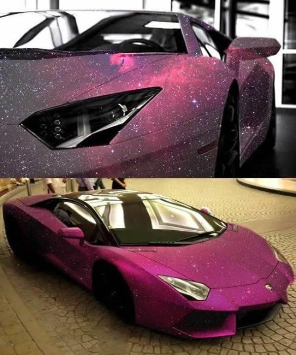 أغرب ألوان السيارات