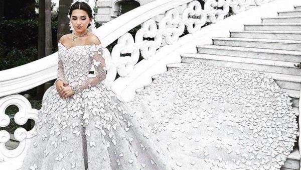 صور فساتين زفاف فخمة 1