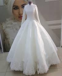 فساتين زفاف للمحجبات 1