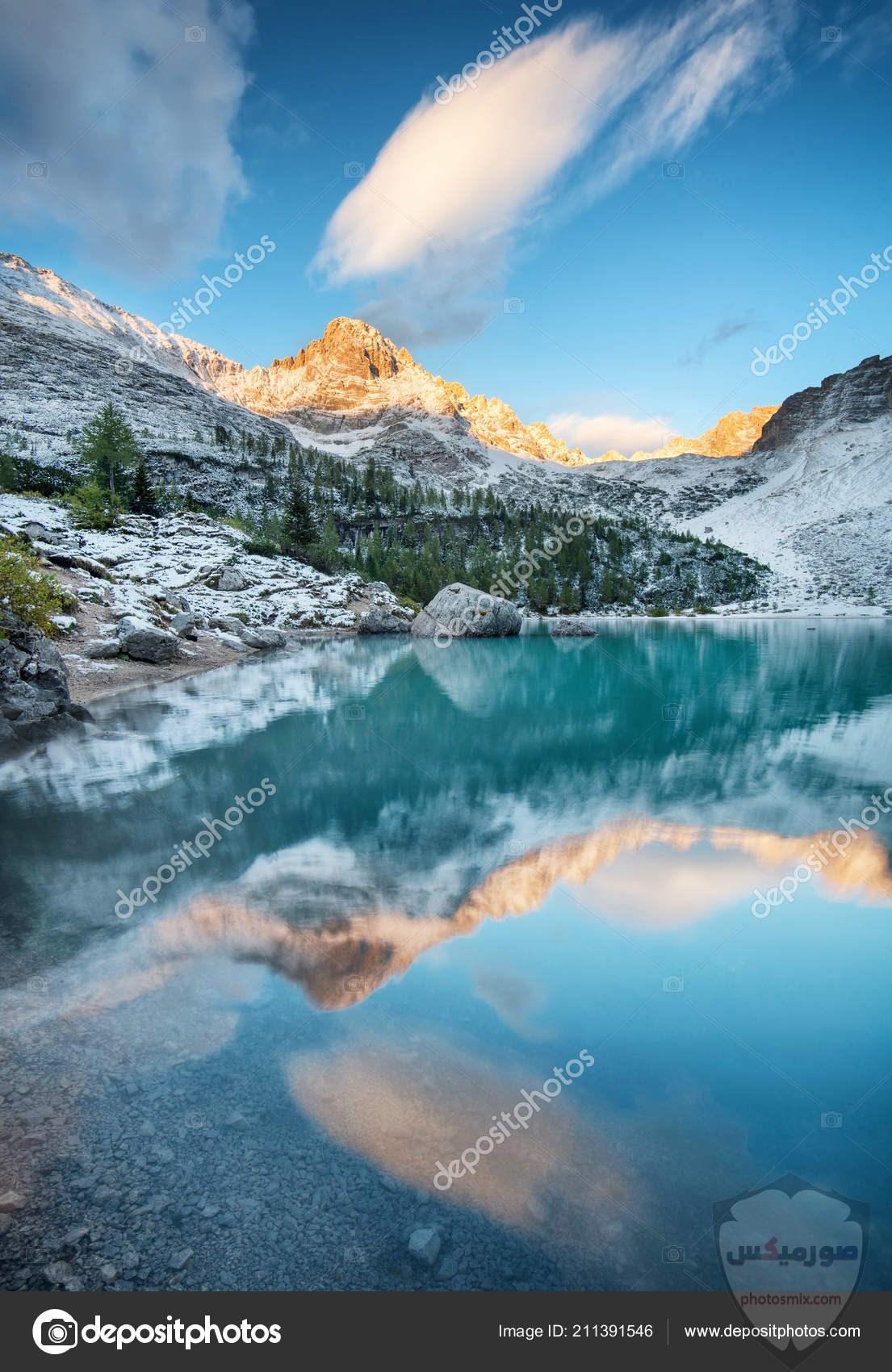 بالصور.. شلالات المياه تزين جبال سانت كاترين 10