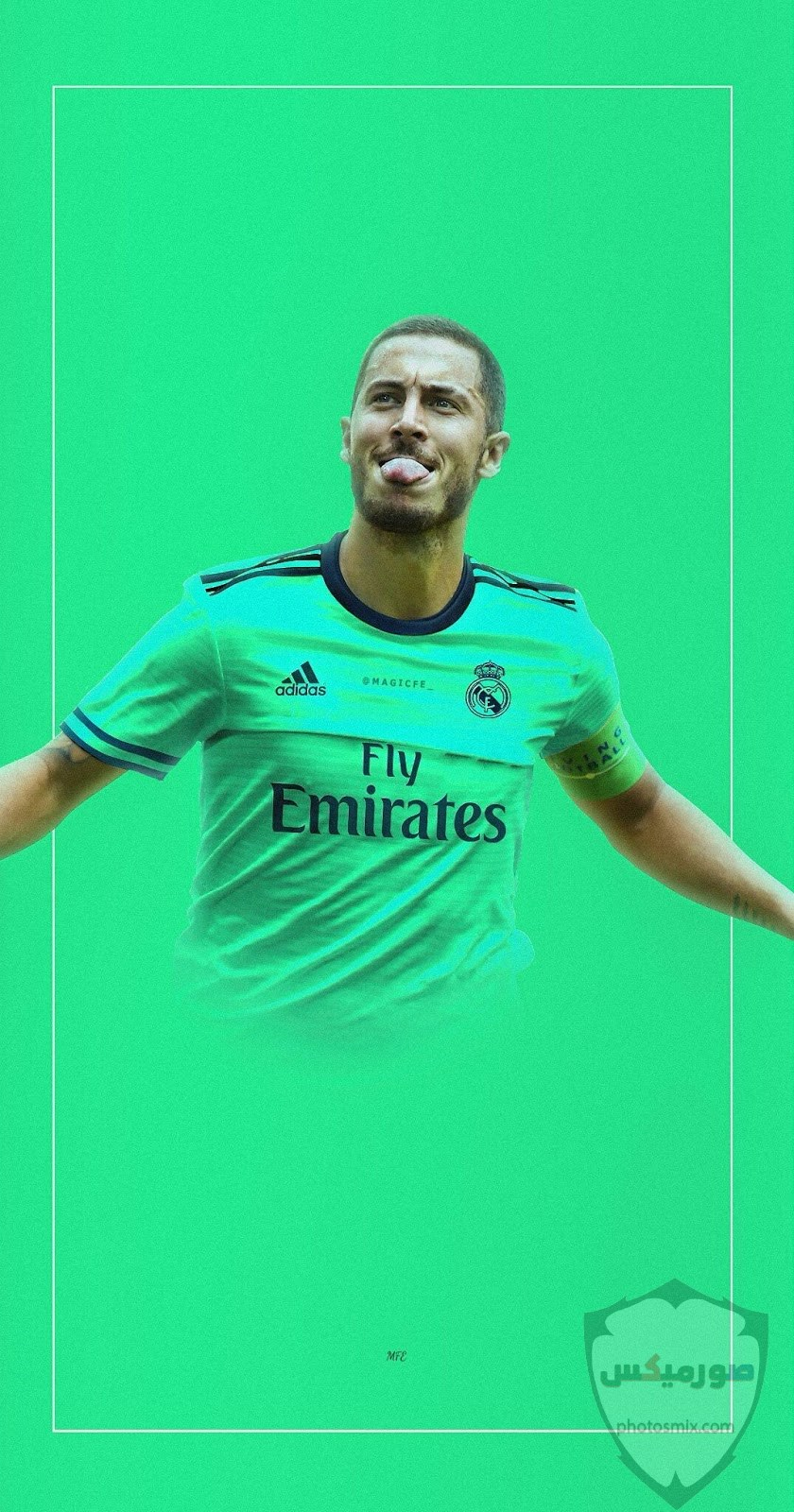 تصميم هازارد ريال مدريد 1
