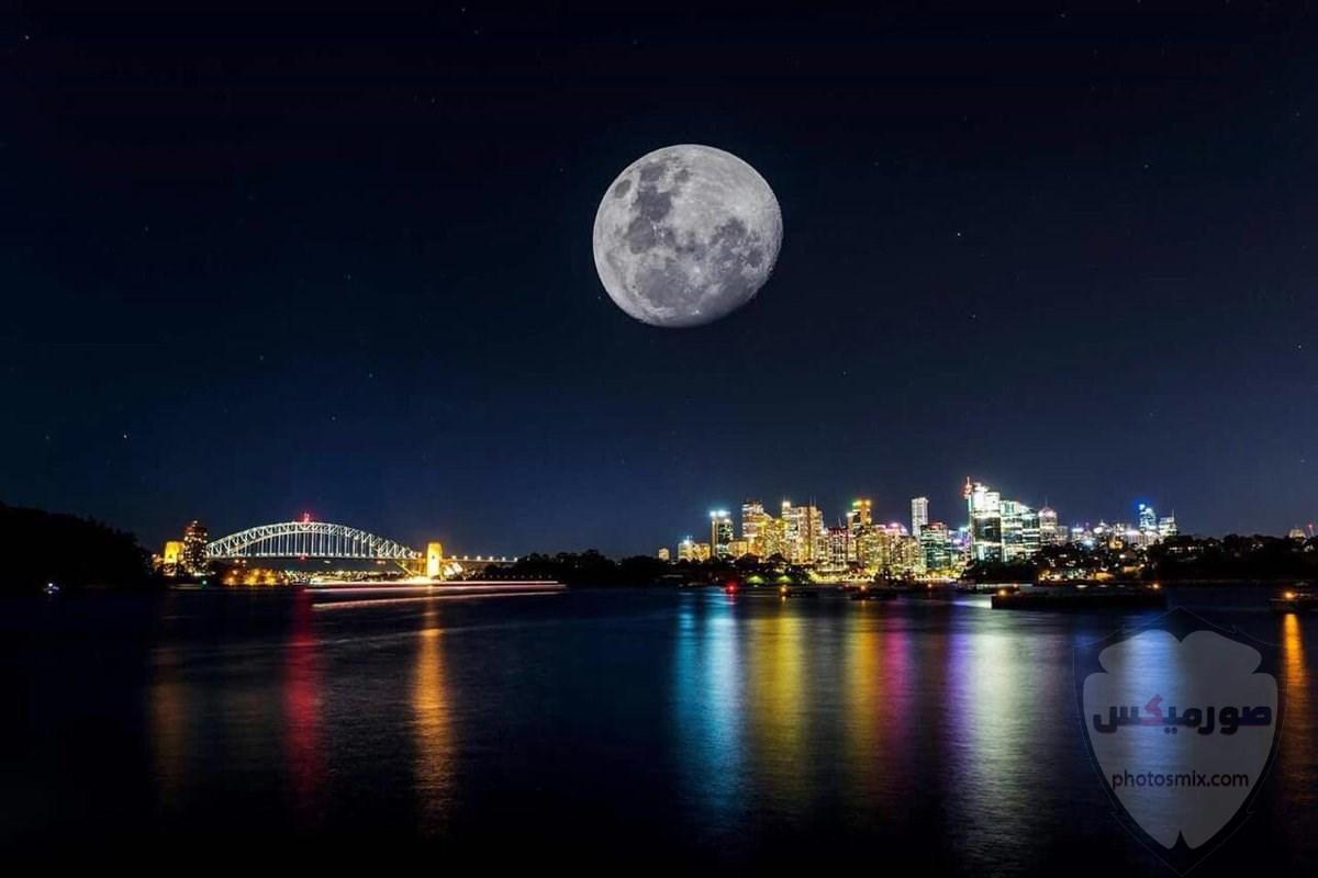 خلفيات القمر والبحر خلفيات ليل وقمر خلفيات ليليه روعه خلفيات قمر وبنت 10