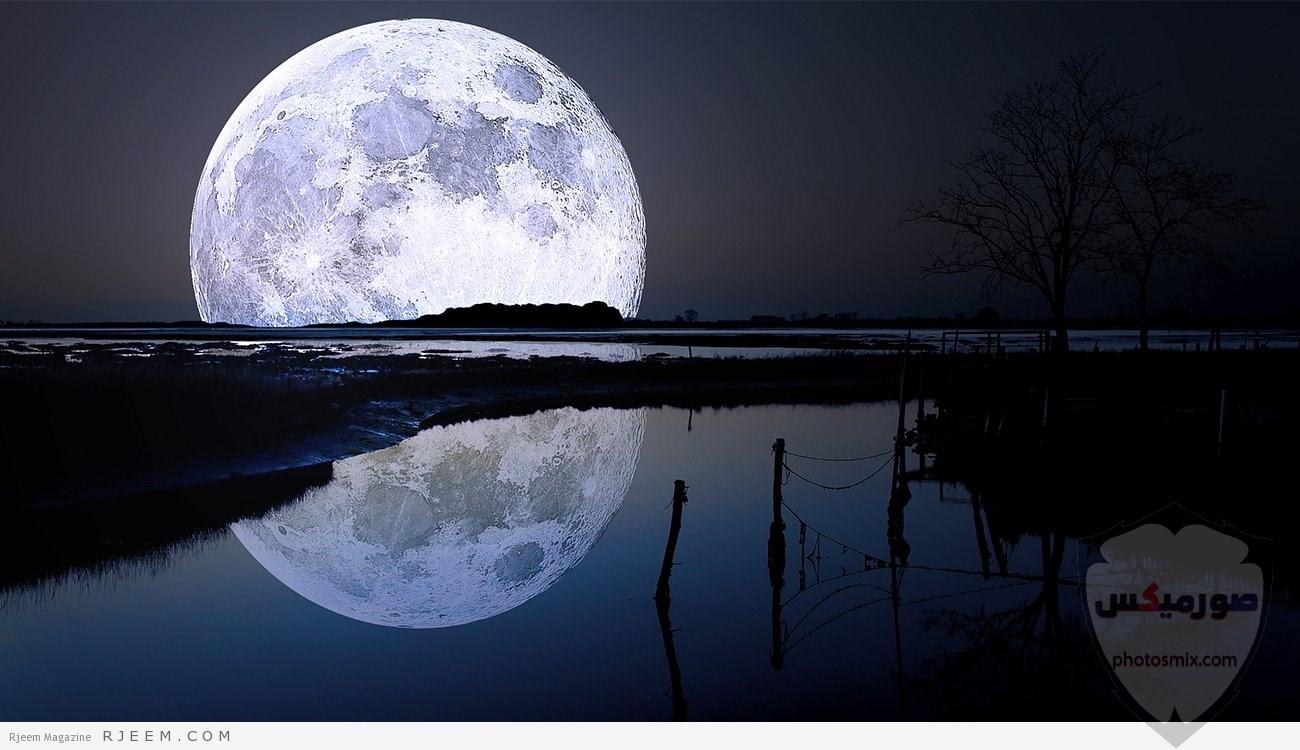 خلفيات القمر والبحر خلفيات ليل وقمر خلفيات ليليه روعه خلفيات قمر وبنت 4