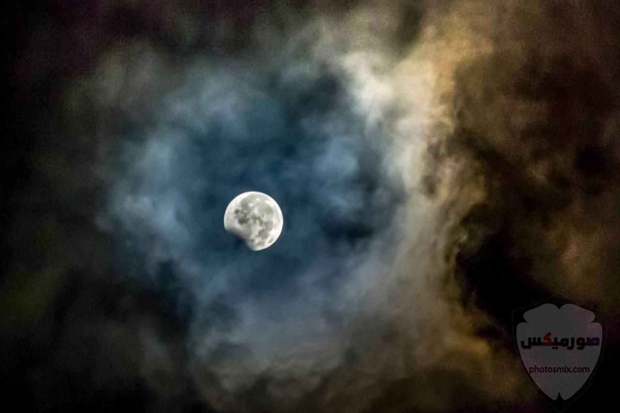 خلفيات القمر والبحر خلفيات ليل وقمر خلفيات ليليه روعه خلفيات قمر وبنت 9