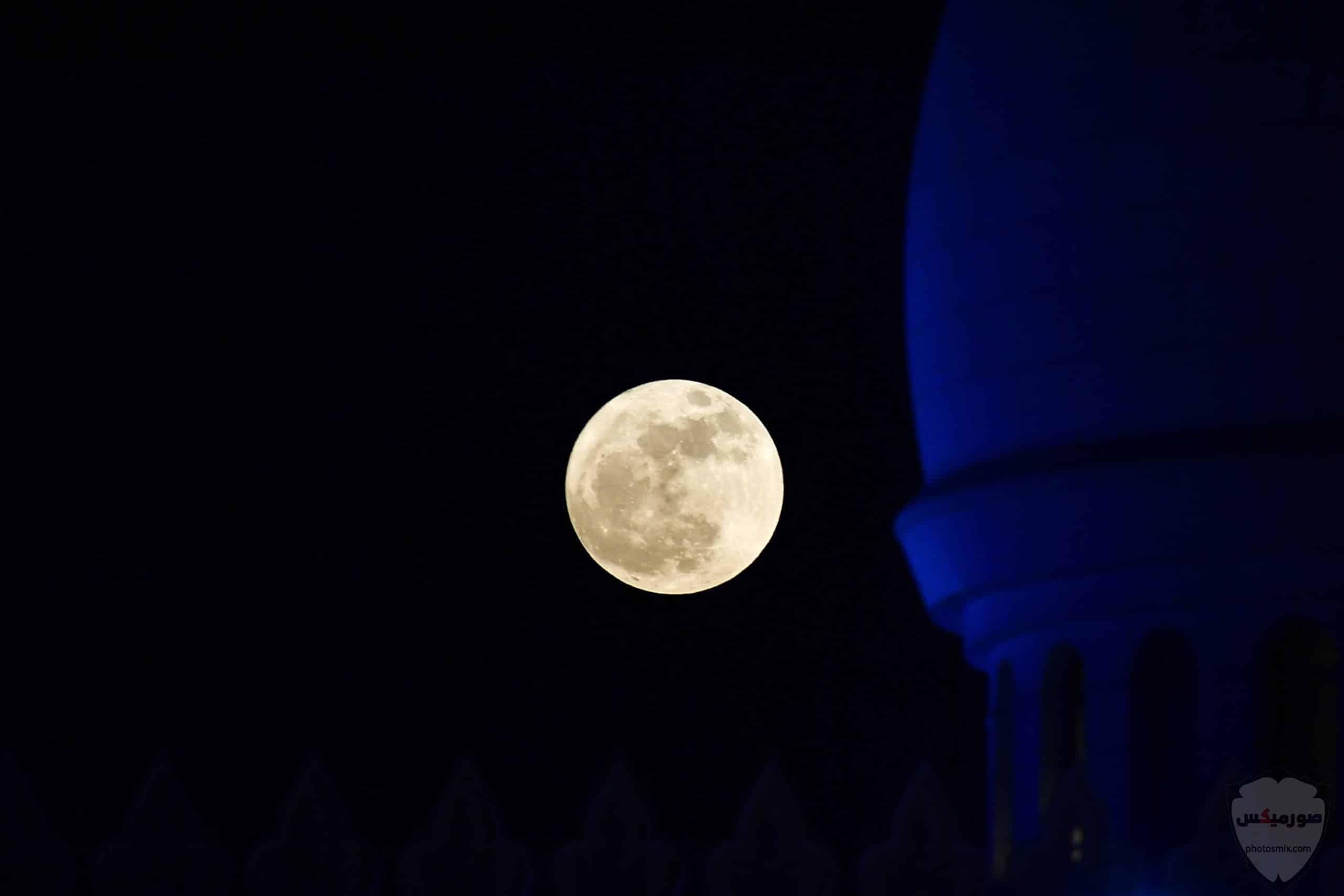 خلفيات قمر وبحر خلفيات القمر والنجوم خلفيات قمر للايفون 1