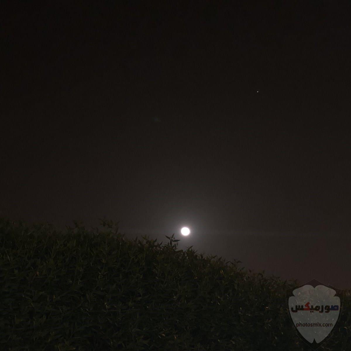 خلفيات قمر وبحر خلفيات القمر والنجوم خلفيات قمر للايفون 8