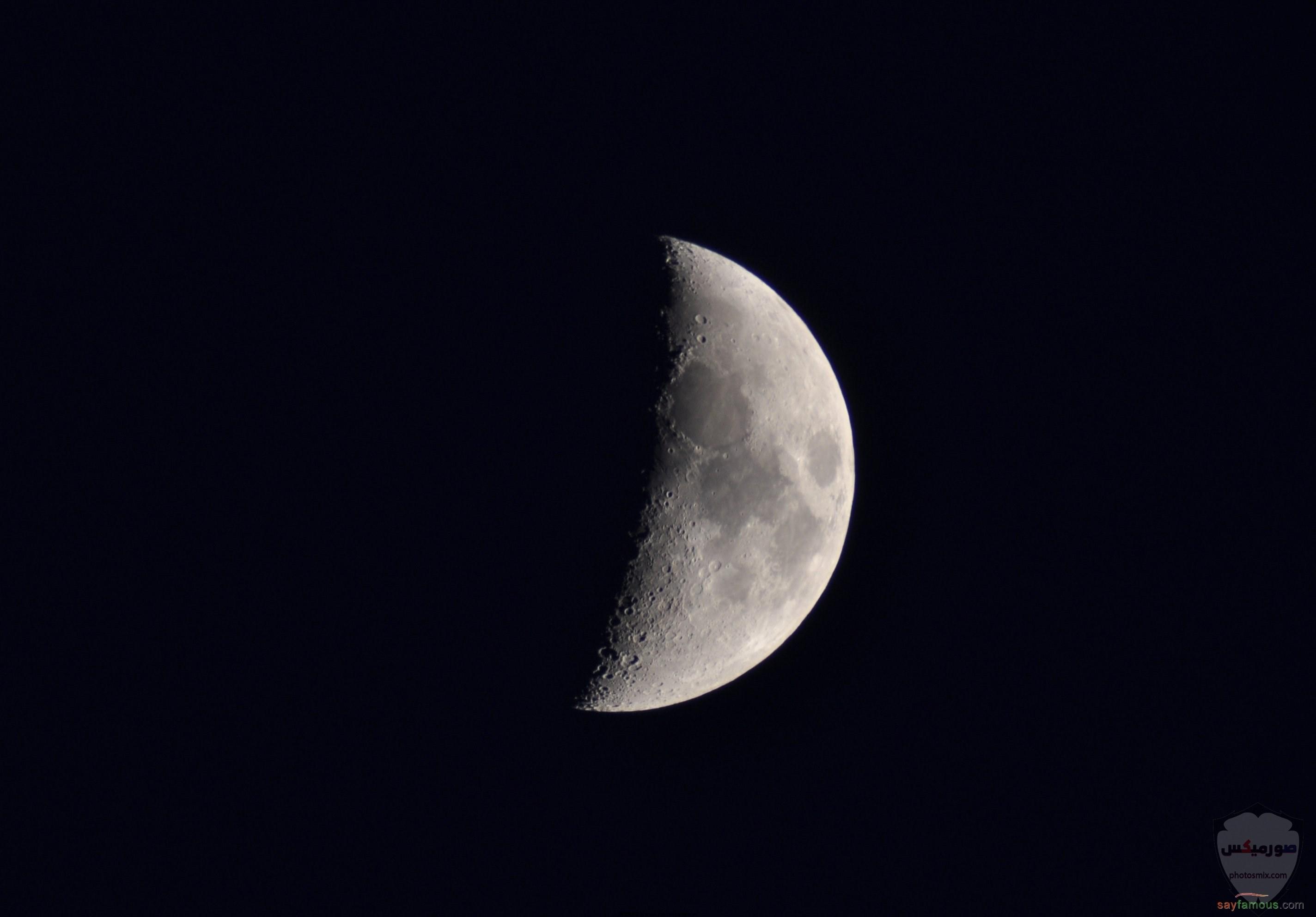 صور القمر والسماء والنجوم خلفيات للقمر والبدر والهلال عالية الجودة 11