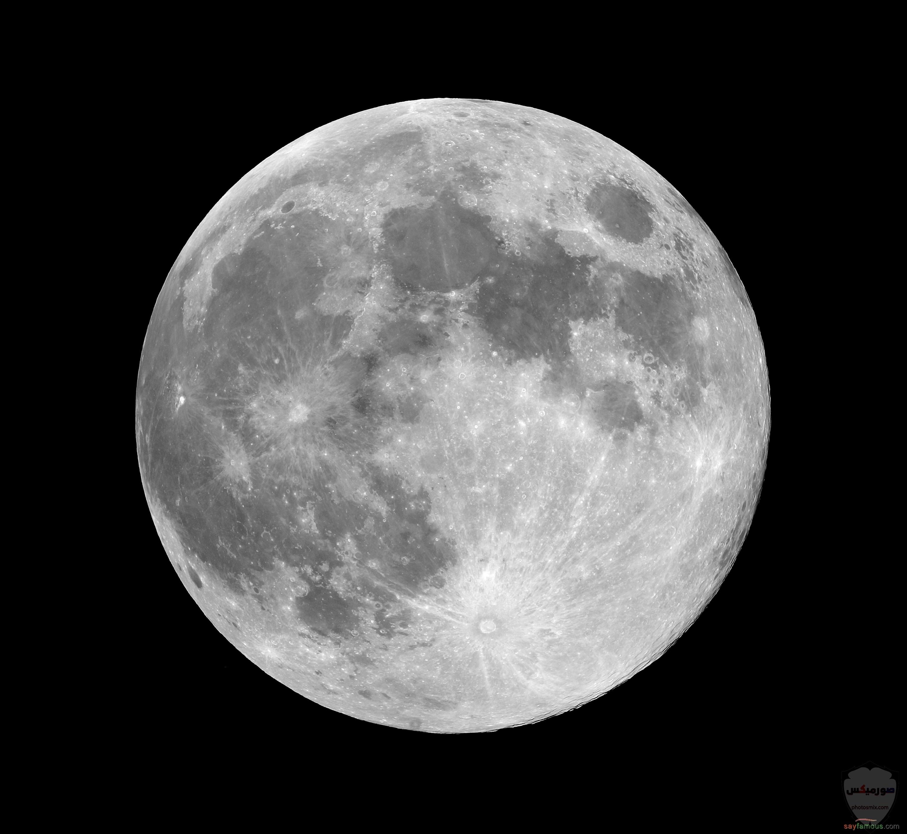 صور القمر والسماء والنجوم خلفيات للقمر والبدر والهلال عالية الجودة 12