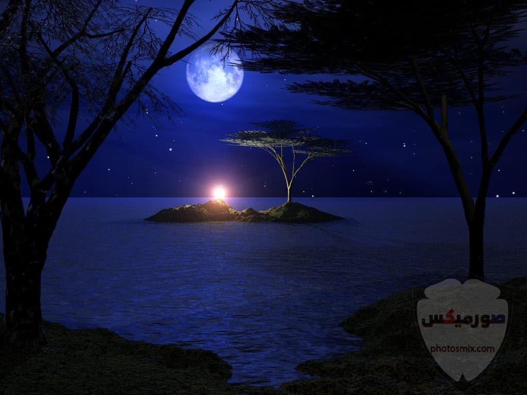 صور القمر والسماء والنجوم خلفيات للقمر والبدر والهلال عالية الجودة 15