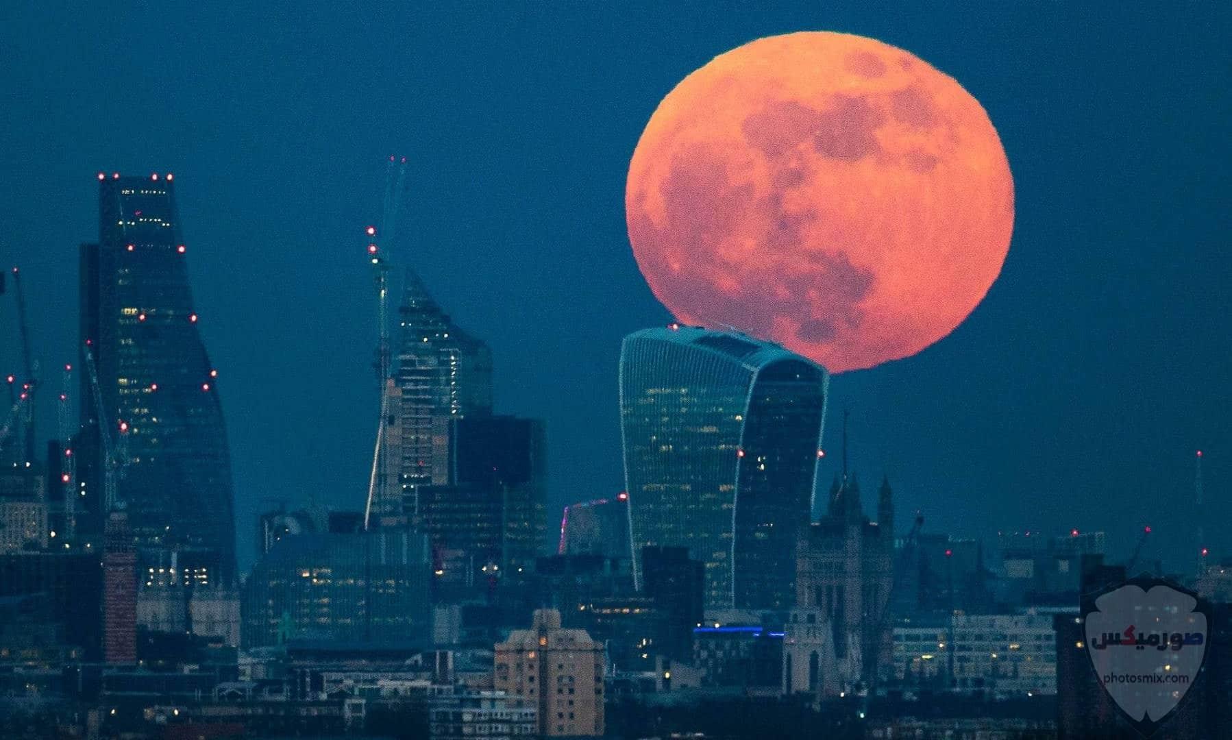 صور القمر والسماء والنجوم خلفيات للقمر والبدر والهلال عالية الجودة 19