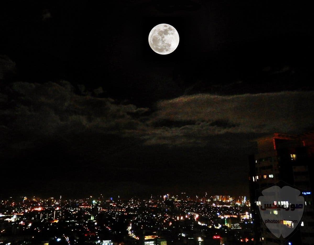 صور القمر والسماء والنجوم خلفيات للقمر والبدر والهلال عالية الجودة 3