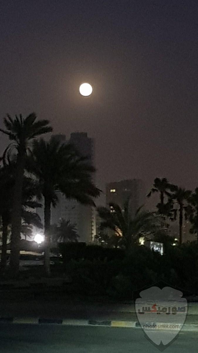 صور القمر والسماء والنجوم خلفيات للقمر والبدر والهلال عالية الجودة 5