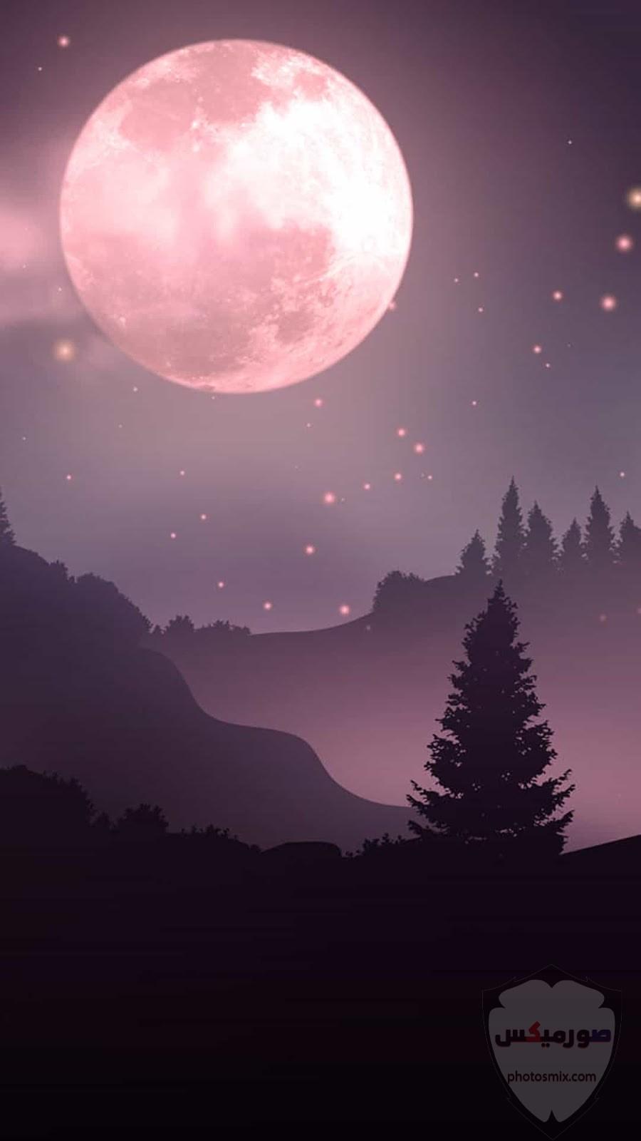 صور القمر والسماء والنجوم خلفيات للقمر والبدر والهلال عالية الجودة 8