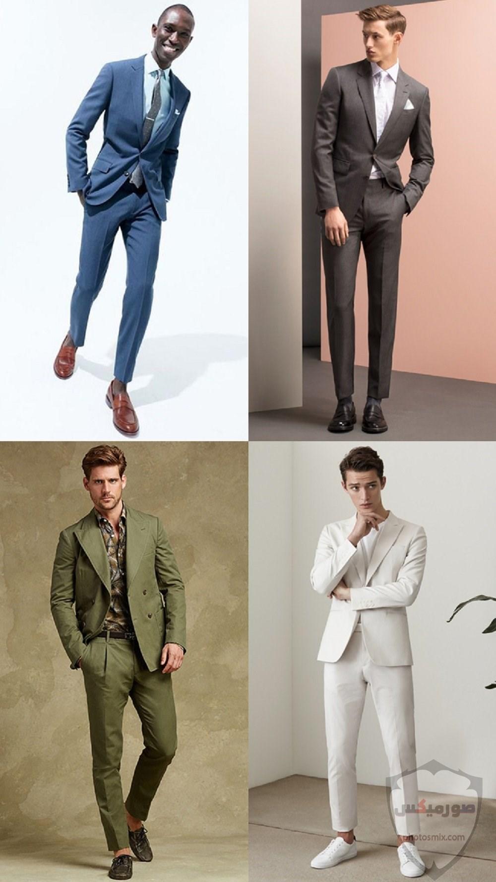 صور بدل رجالى 2020 صور ازياء وملابس كلاسيك شبابية للرجال 13