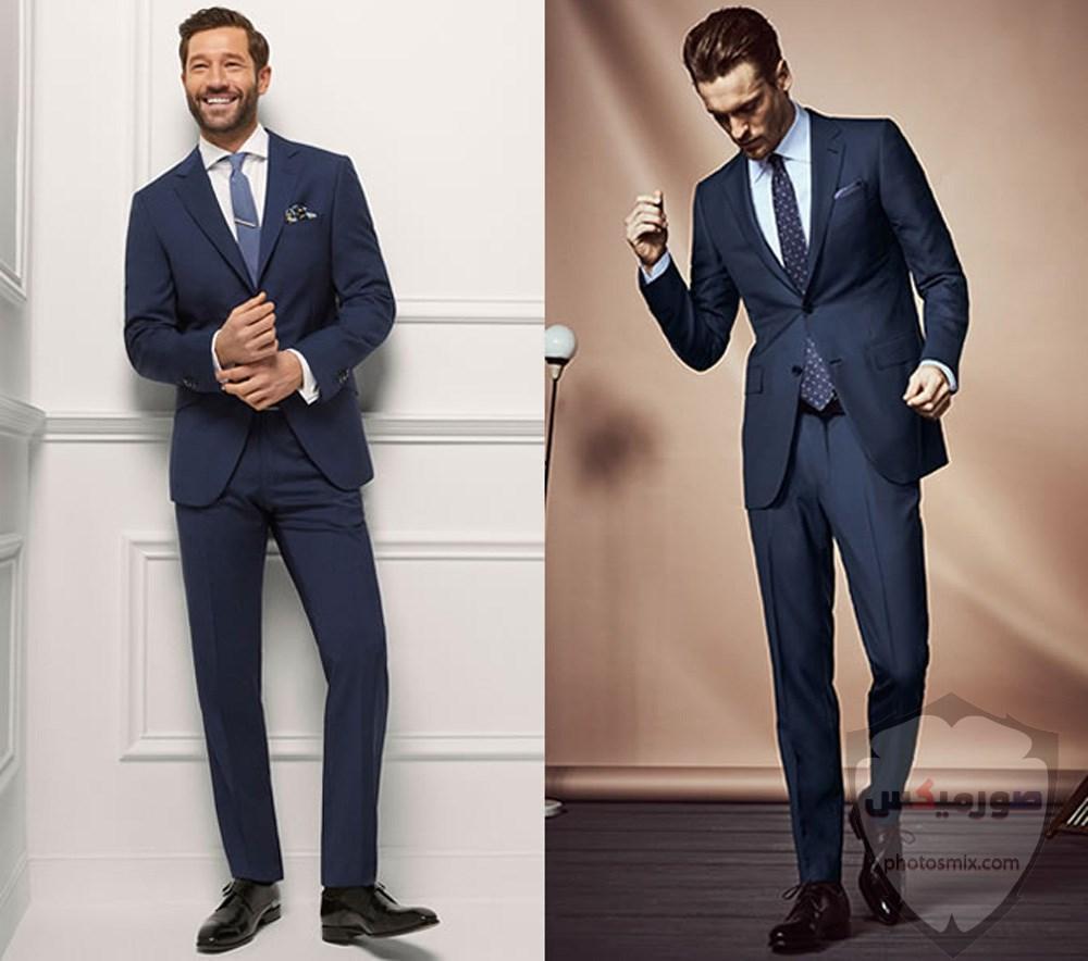 صور بدل رجالى 2020 صور ازياء وملابس كلاسيك شبابية للرجال 14