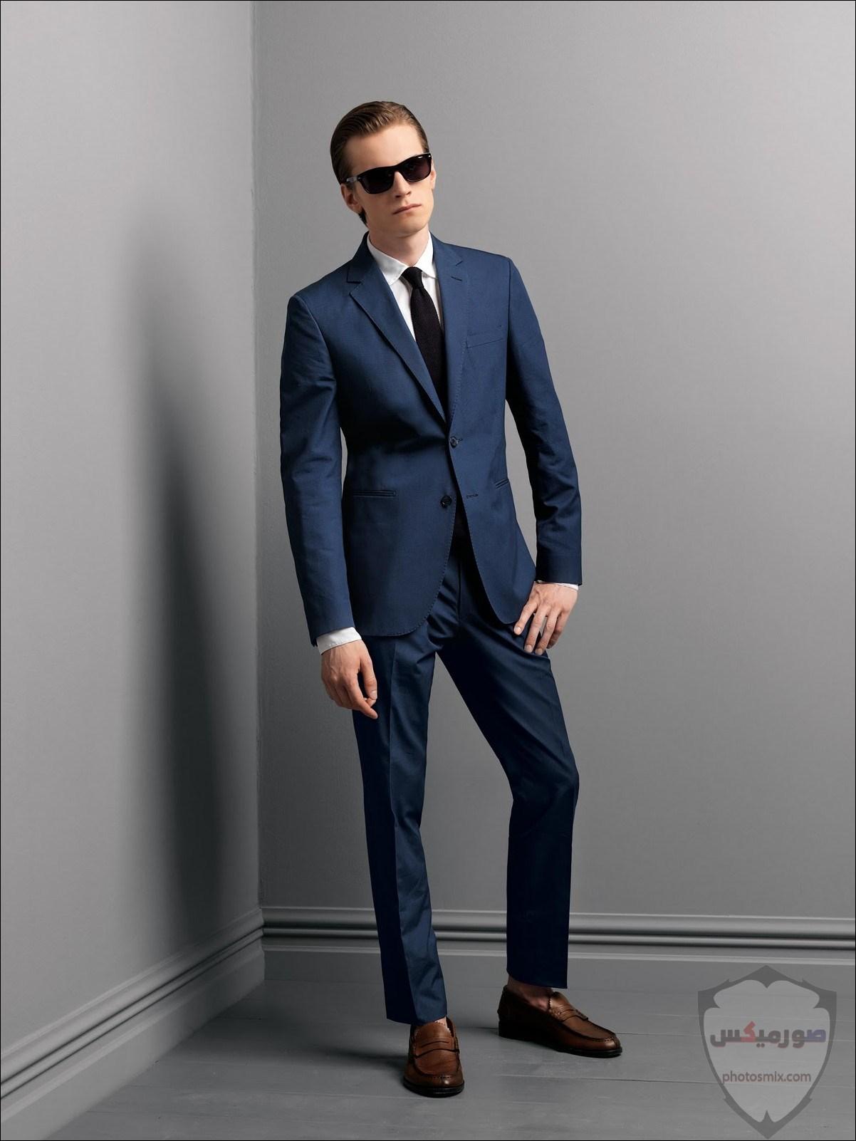 صور بدل رجالى 2020 صور ازياء وملابس كلاسيك شبابية للرجال 17