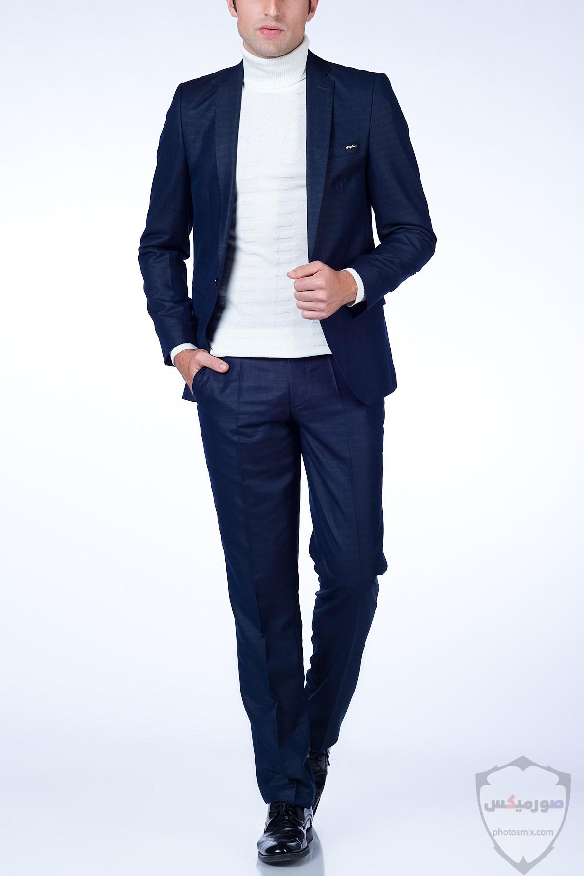 صور بدل رجالى 2020 صور ازياء وملابس كلاسيك شبابية للرجال 20