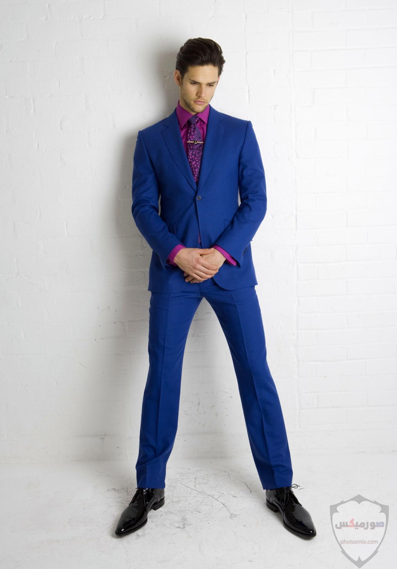 صور بدل رجالى 2020 صور ازياء وملابس كلاسيك شبابية للرجال 8