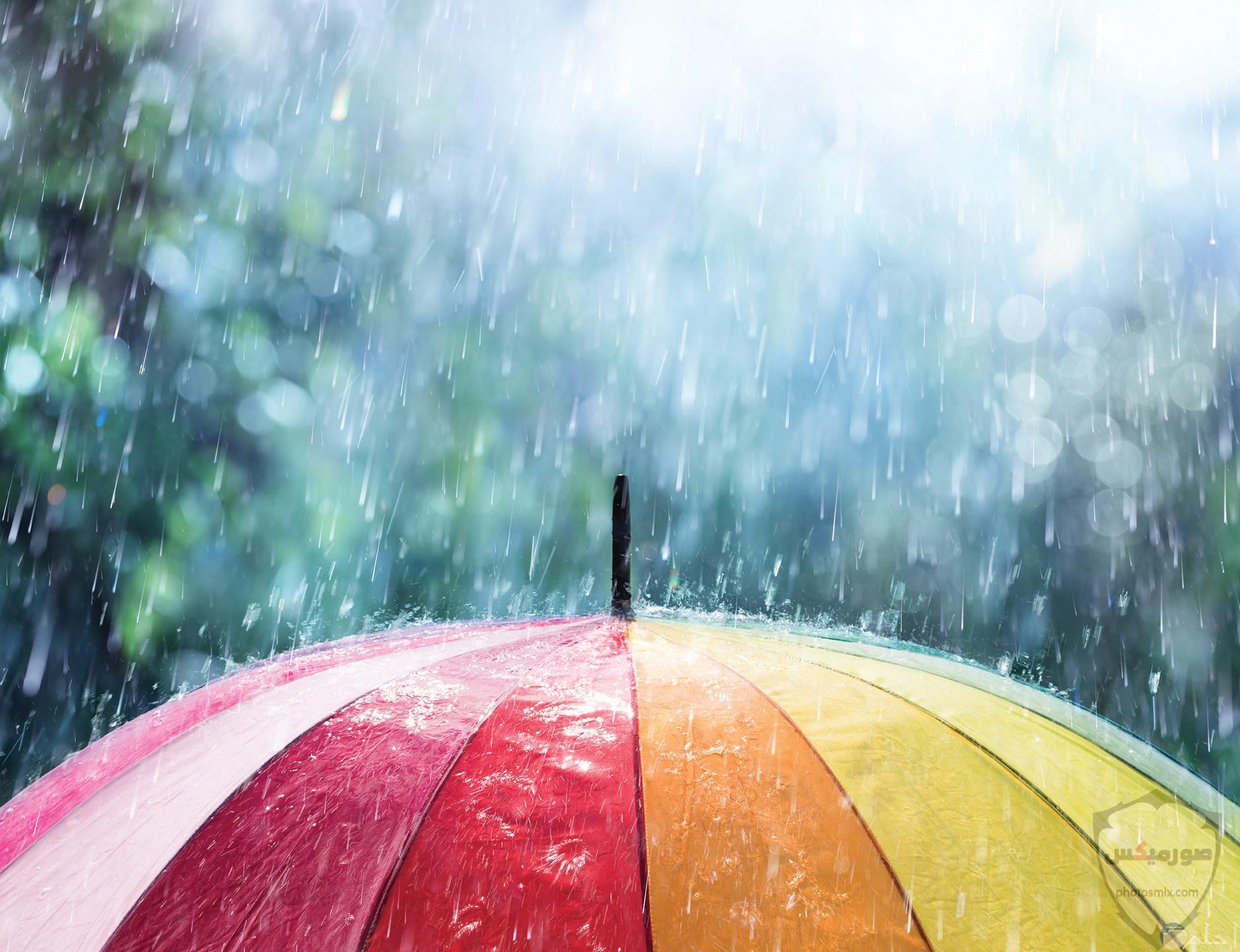 صور مطر جميلة اجمل خلفيات قطرات المطر ادعية عن الامطار والشتاء 10 1