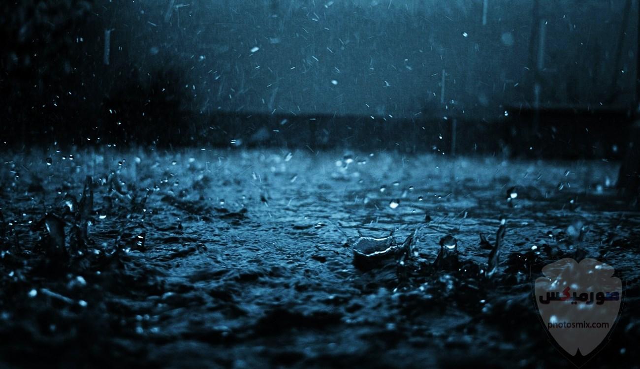 صور مطر جميلة اجمل خلفيات قطرات المطر ادعية عن الامطار والشتاء 14