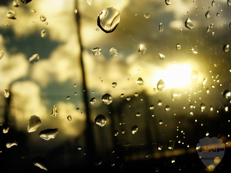 صور مطر جميلة اجمل خلفيات قطرات المطر ادعية عن الامطار والشتاء 6 1