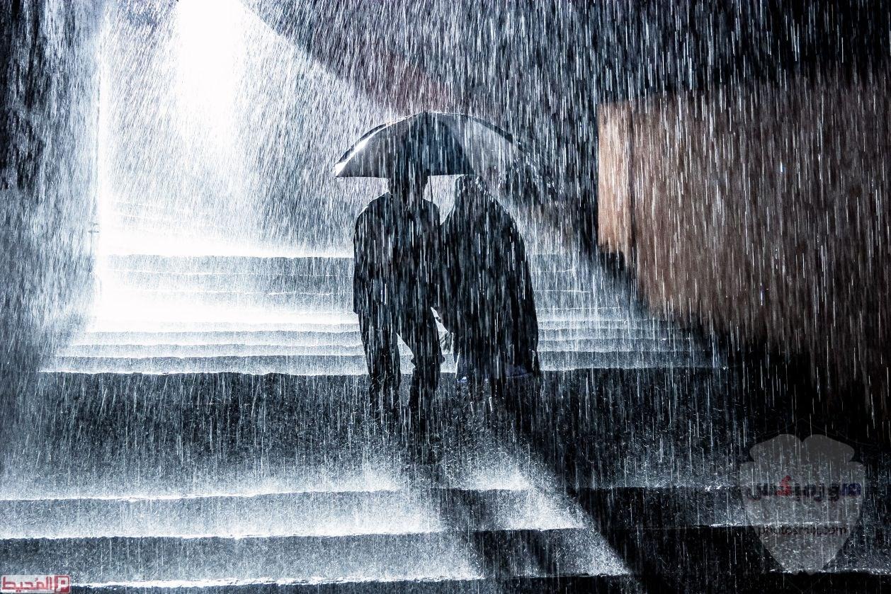 صور مطر جميلة اجمل خلفيات قطرات المطر ادعية عن الامطار والشتاء 7 1