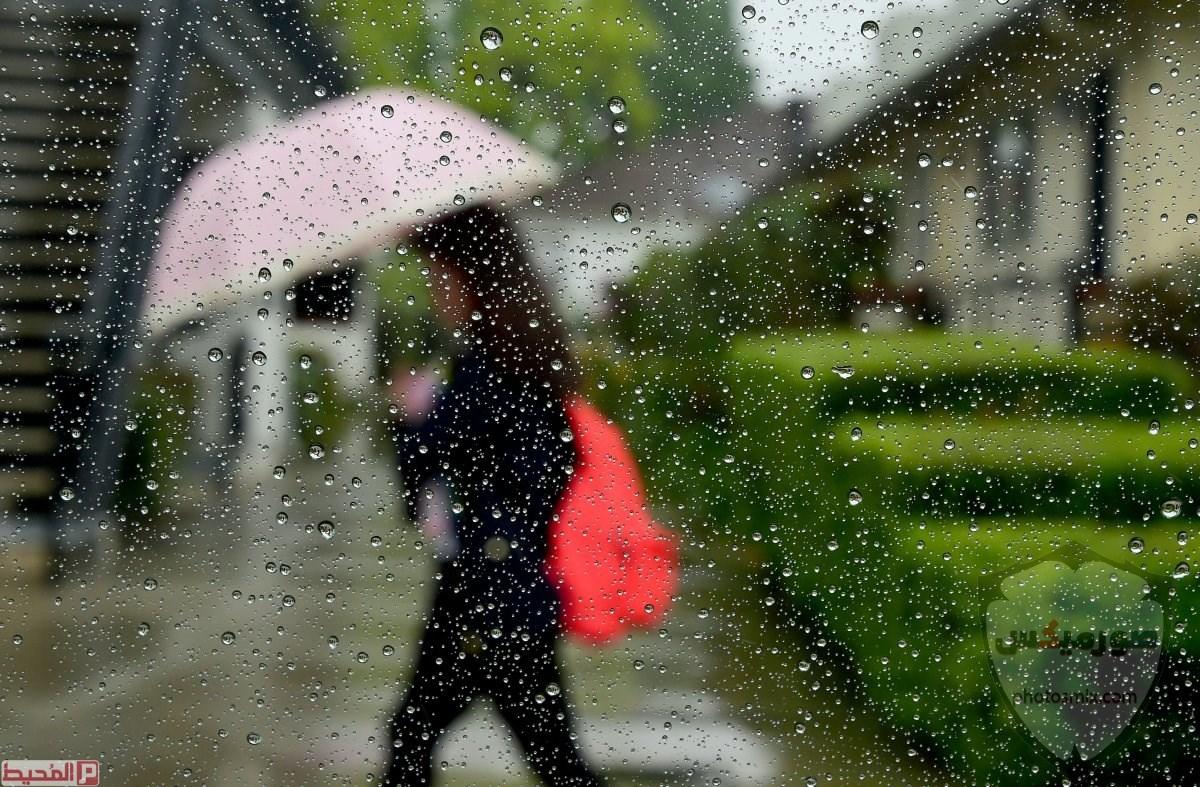 صور مطر جميلة اجمل خلفيات قطرات المطر ادعية عن الامطار والشتاء 8 1