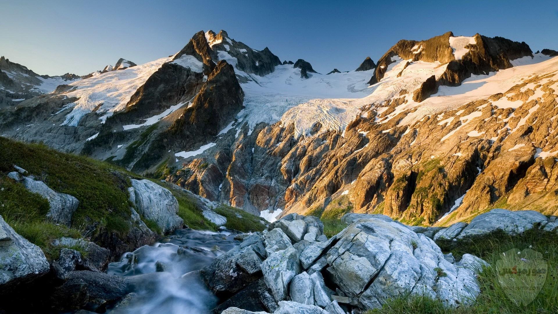 صور وخلفيات جبال وشلالات طبيعية HD خلفيات جبال خضراء وثلجية 12