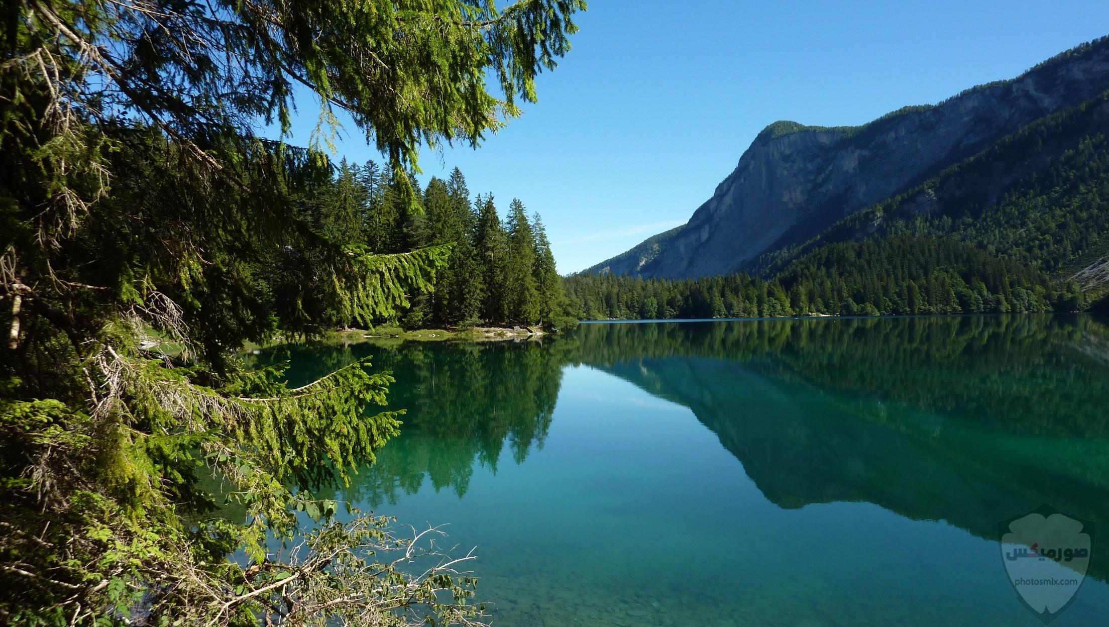 صور وخلفيات جبال وشلالات طبيعية HD خلفيات جبال خضراء وثلجية 13
