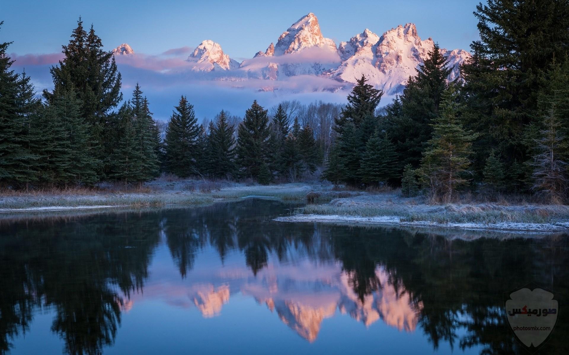 صور وخلفيات جبال وشلالات طبيعية HD خلفيات جبال خضراء وثلجية 14