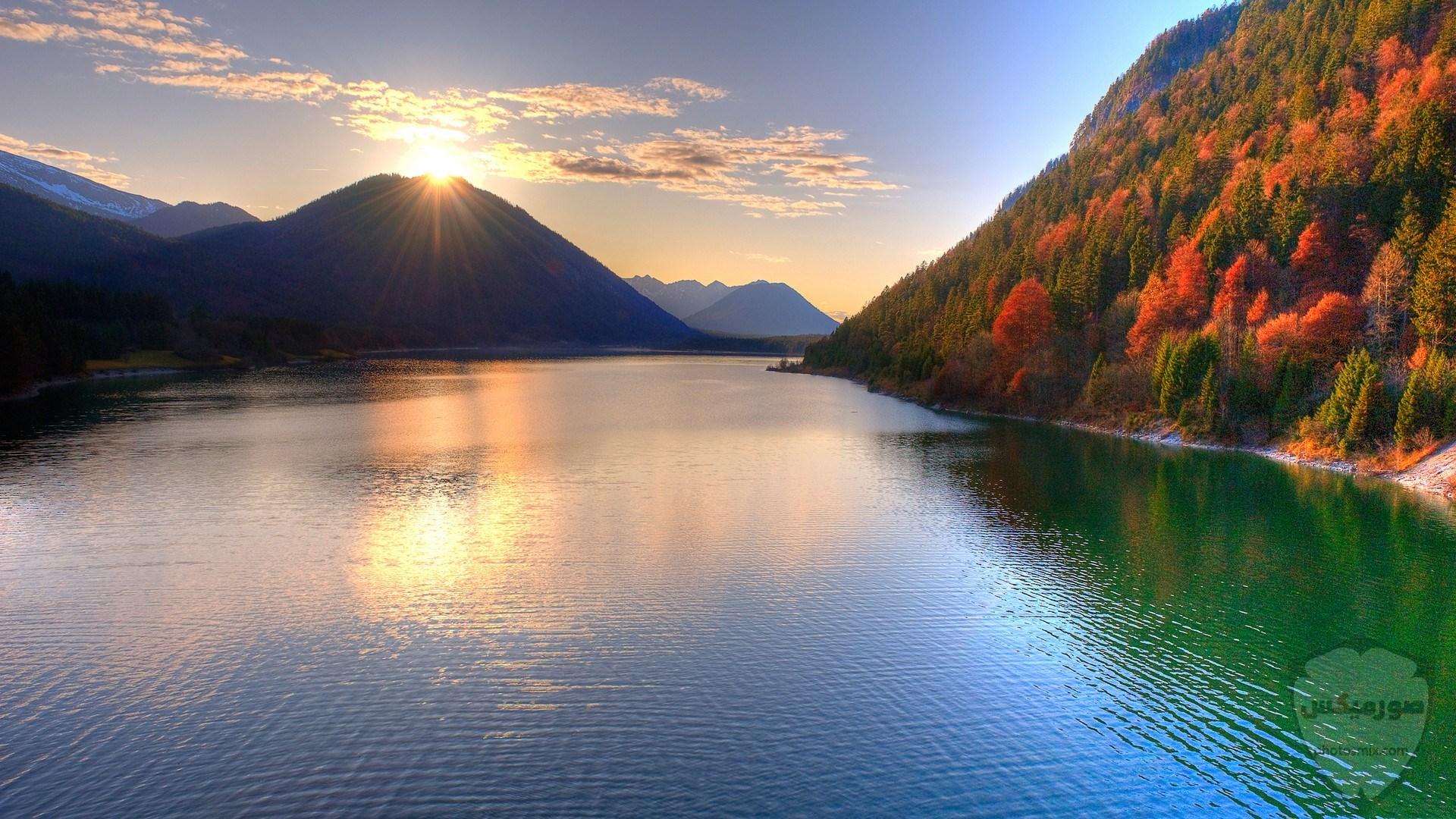 صور وخلفيات جبال وشلالات طبيعية HD خلفيات جبال خضراء وثلجية 16