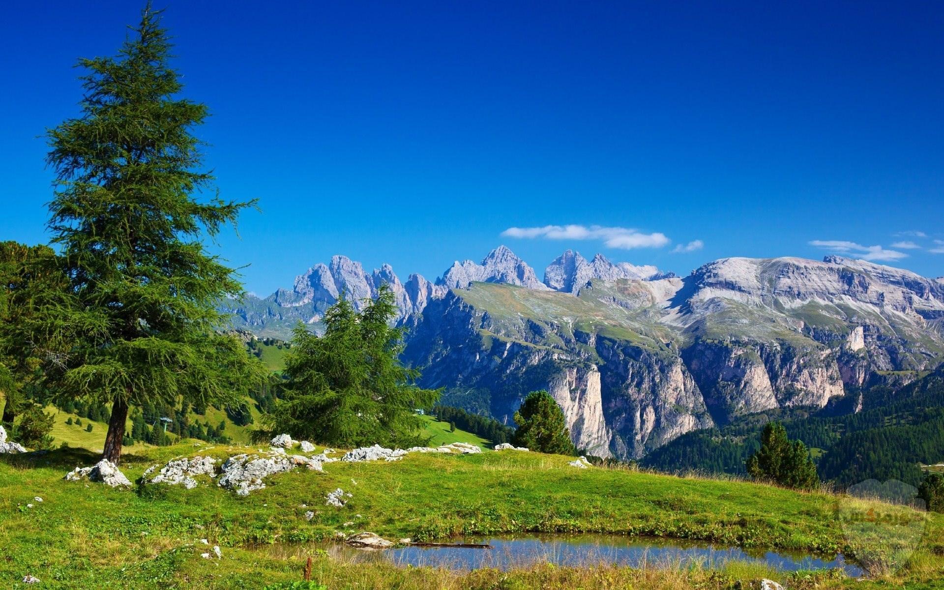 صور وخلفيات جبال وشلالات طبيعية HD خلفيات جبال خضراء وثلجية 17