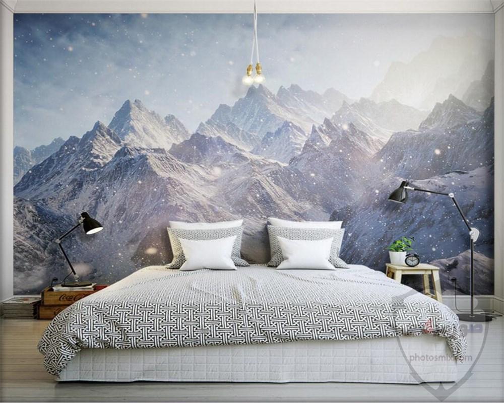 صور وخلفيات جبال وشلالات طبيعية HD خلفيات جبال خضراء وثلجية 19