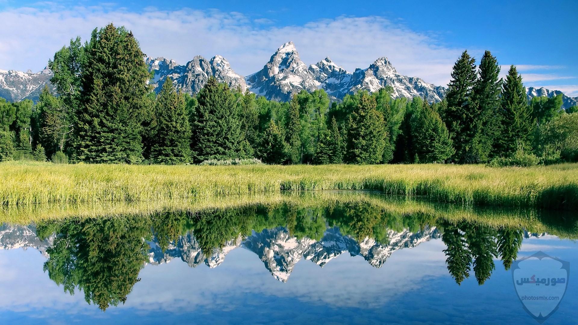 صور وخلفيات جبال وشلالات طبيعية HD خلفيات جبال خضراء وثلجية 2
