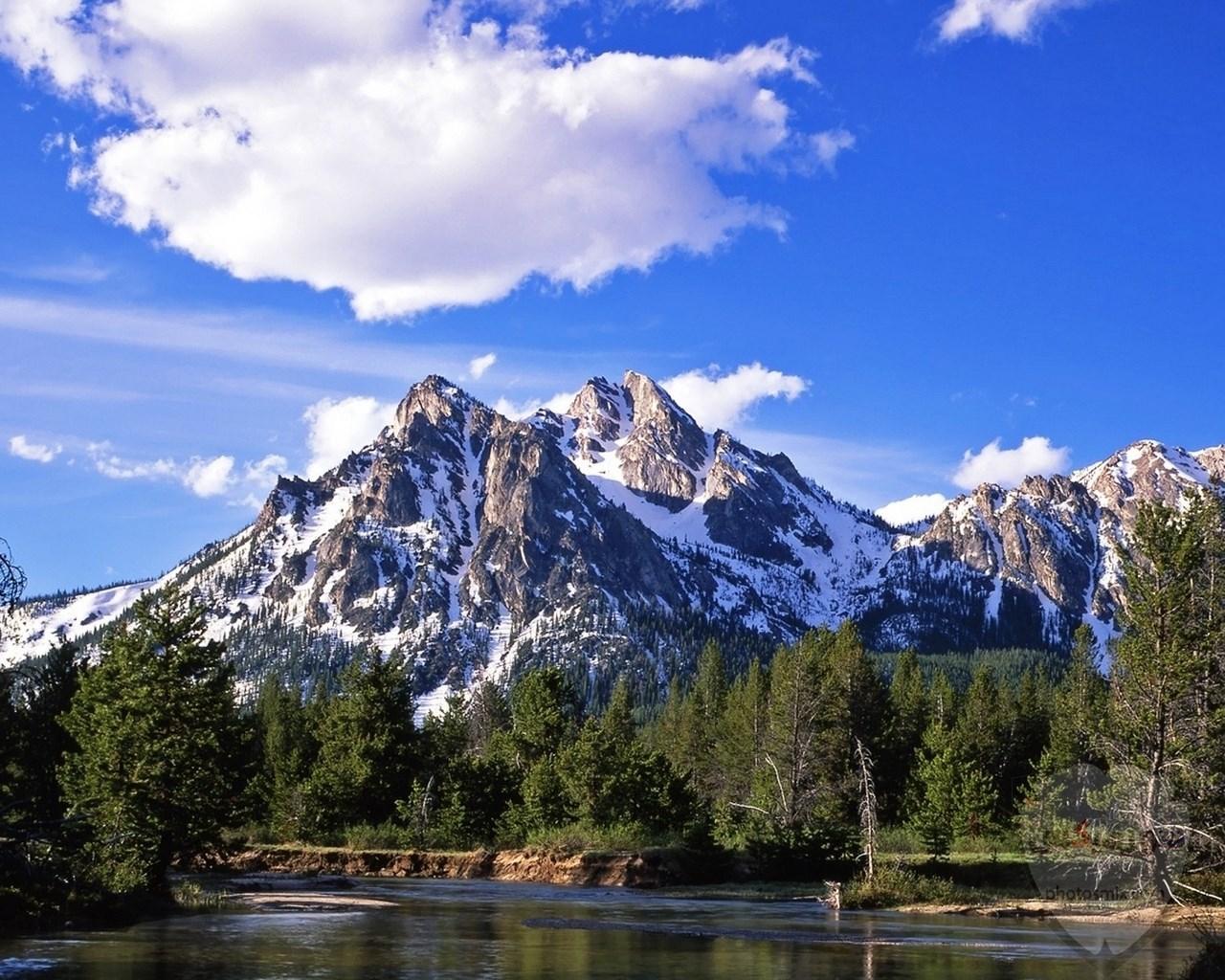 صور وخلفيات جبال وشلالات طبيعية HD خلفيات جبال خضراء وثلجية 20