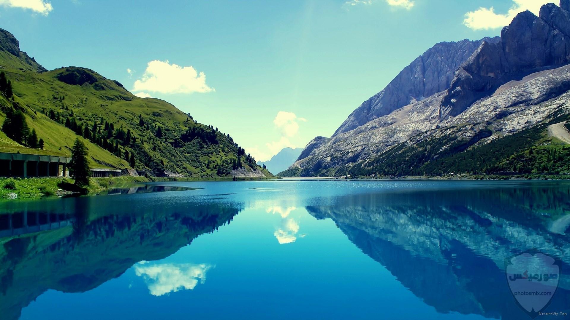 صور وخلفيات جبال وشلالات طبيعية HD خلفيات جبال خضراء وثلجية 21