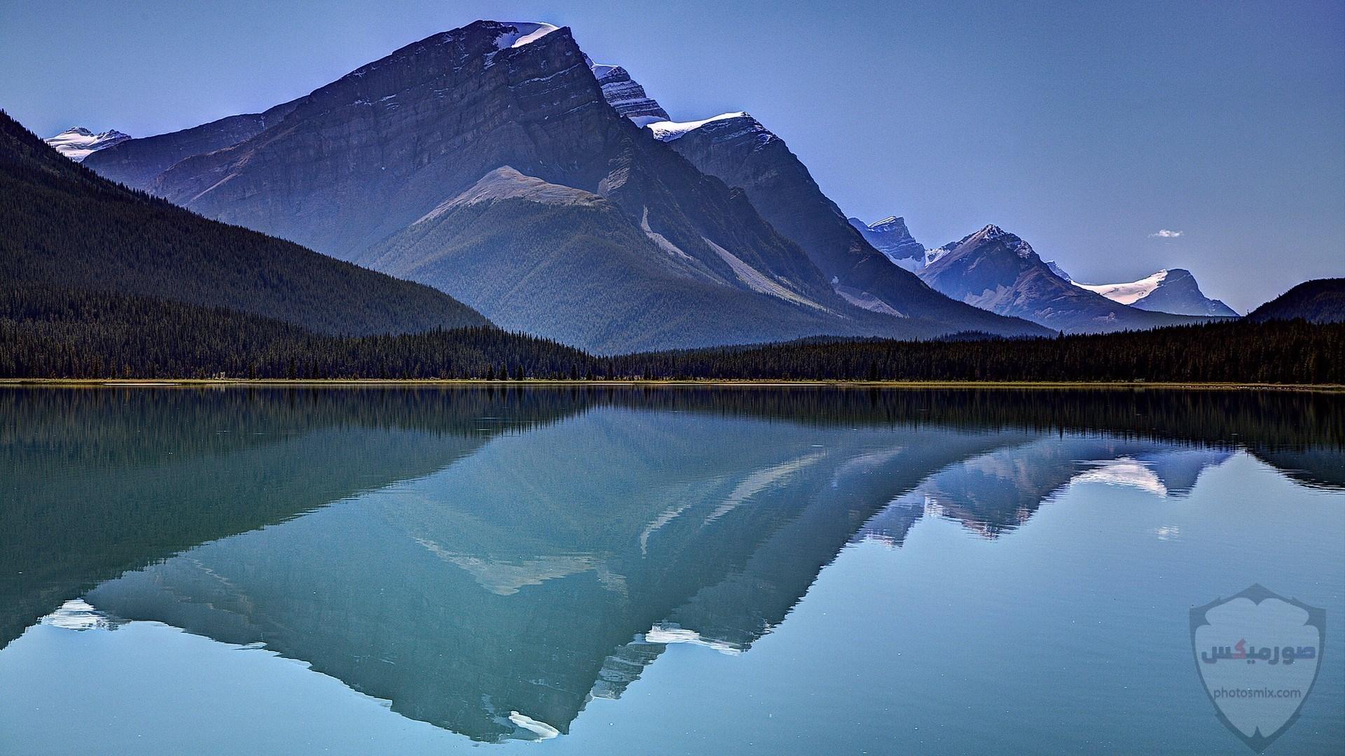 صور وخلفيات جبال وشلالات طبيعية HD خلفيات جبال خضراء وثلجية 22