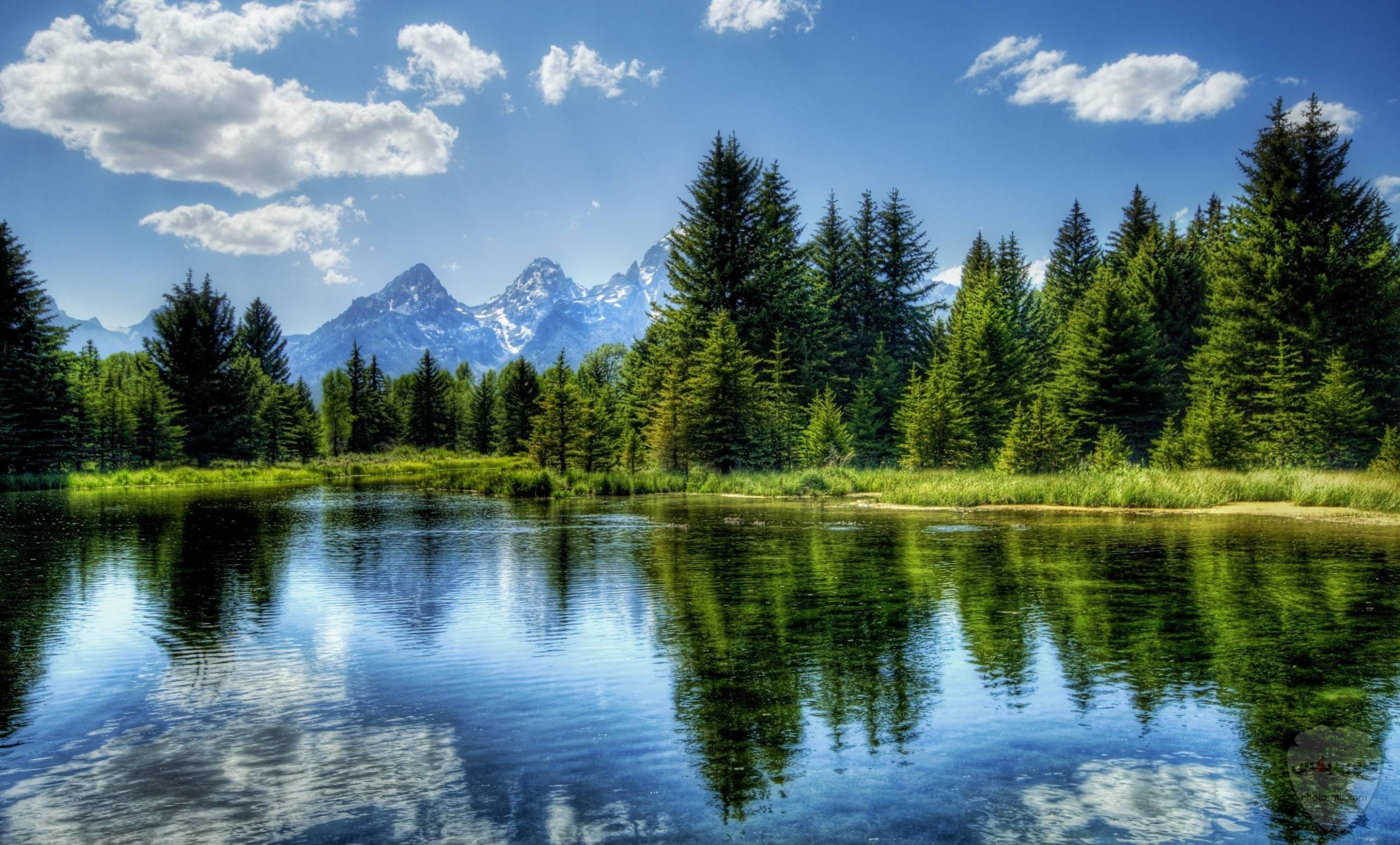 صور وخلفيات جبال وشلالات طبيعية HD خلفيات جبال خضراء وثلجية 23