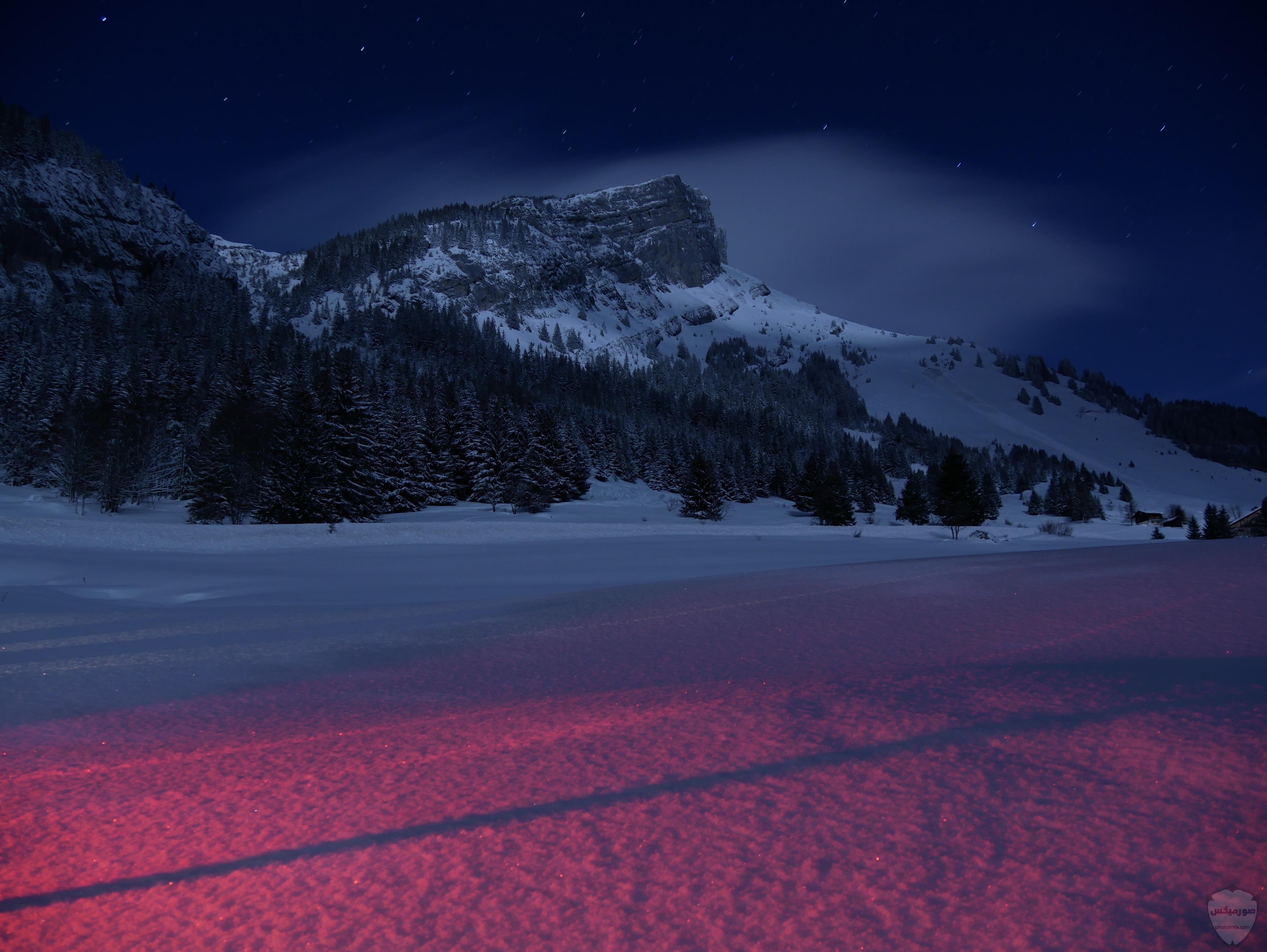 صور وخلفيات جبال وشلالات طبيعية HD خلفيات جبال خضراء وثلجية 3