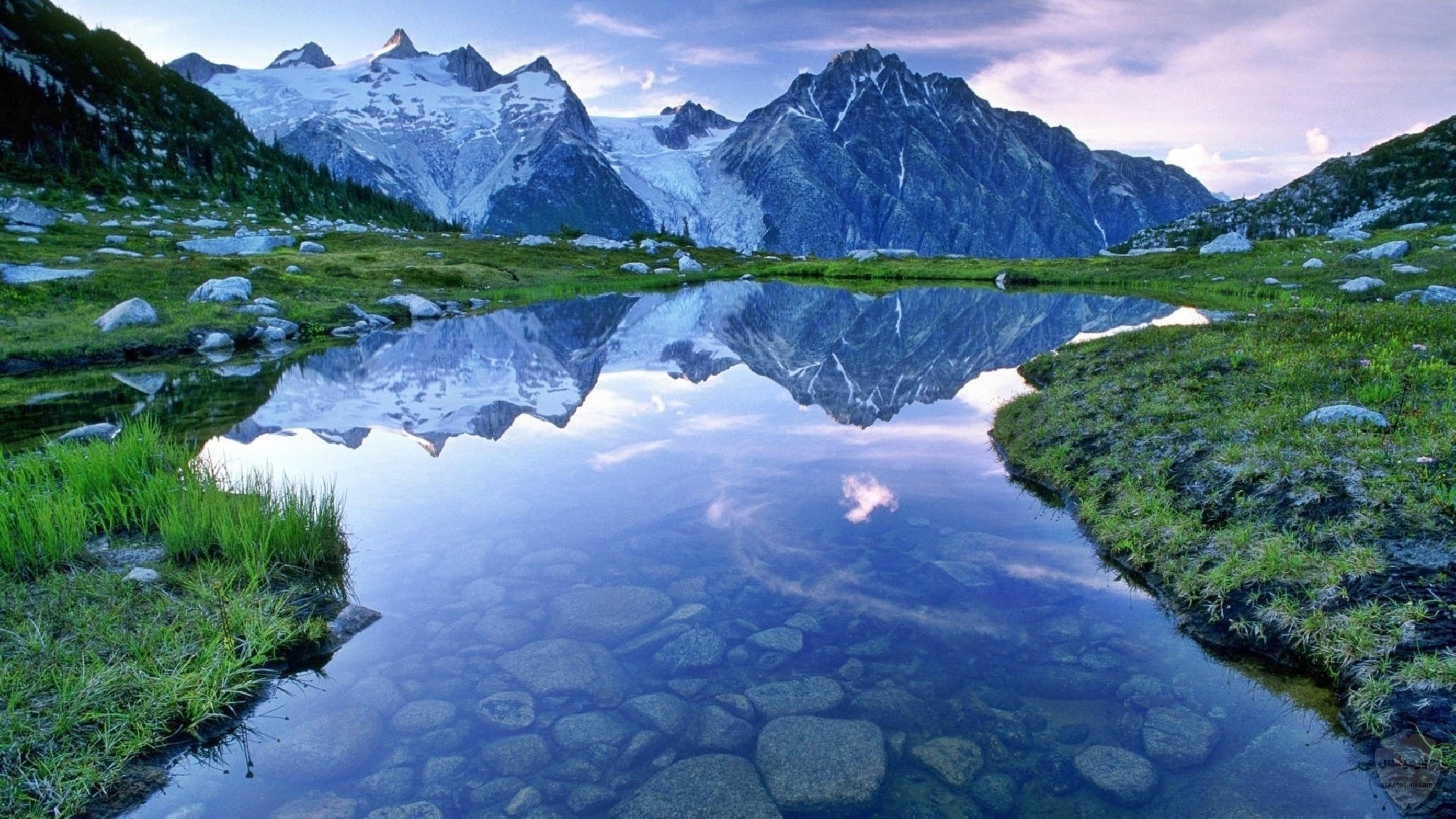 صور وخلفيات جبال وشلالات طبيعية HD خلفيات جبال خضراء وثلجية 39