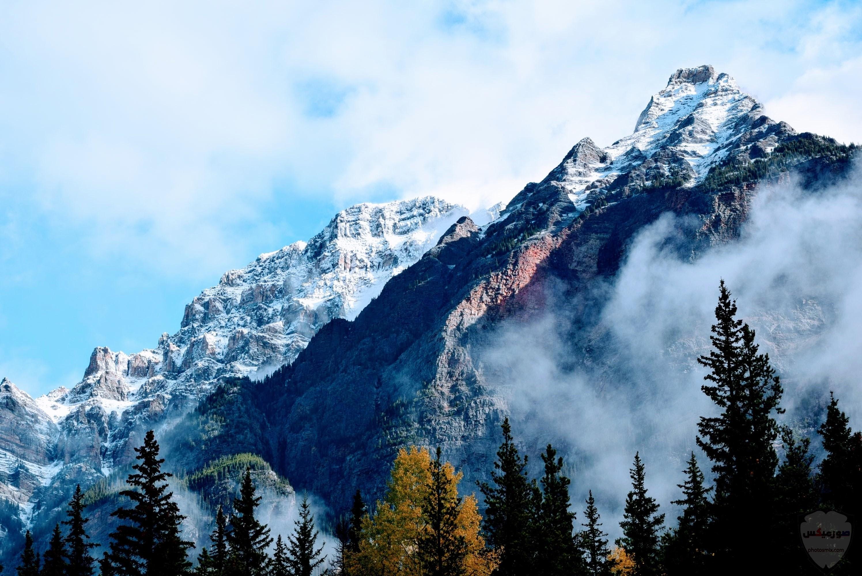 صور وخلفيات جبال وشلالات طبيعية HD خلفيات جبال خضراء وثلجية 4
