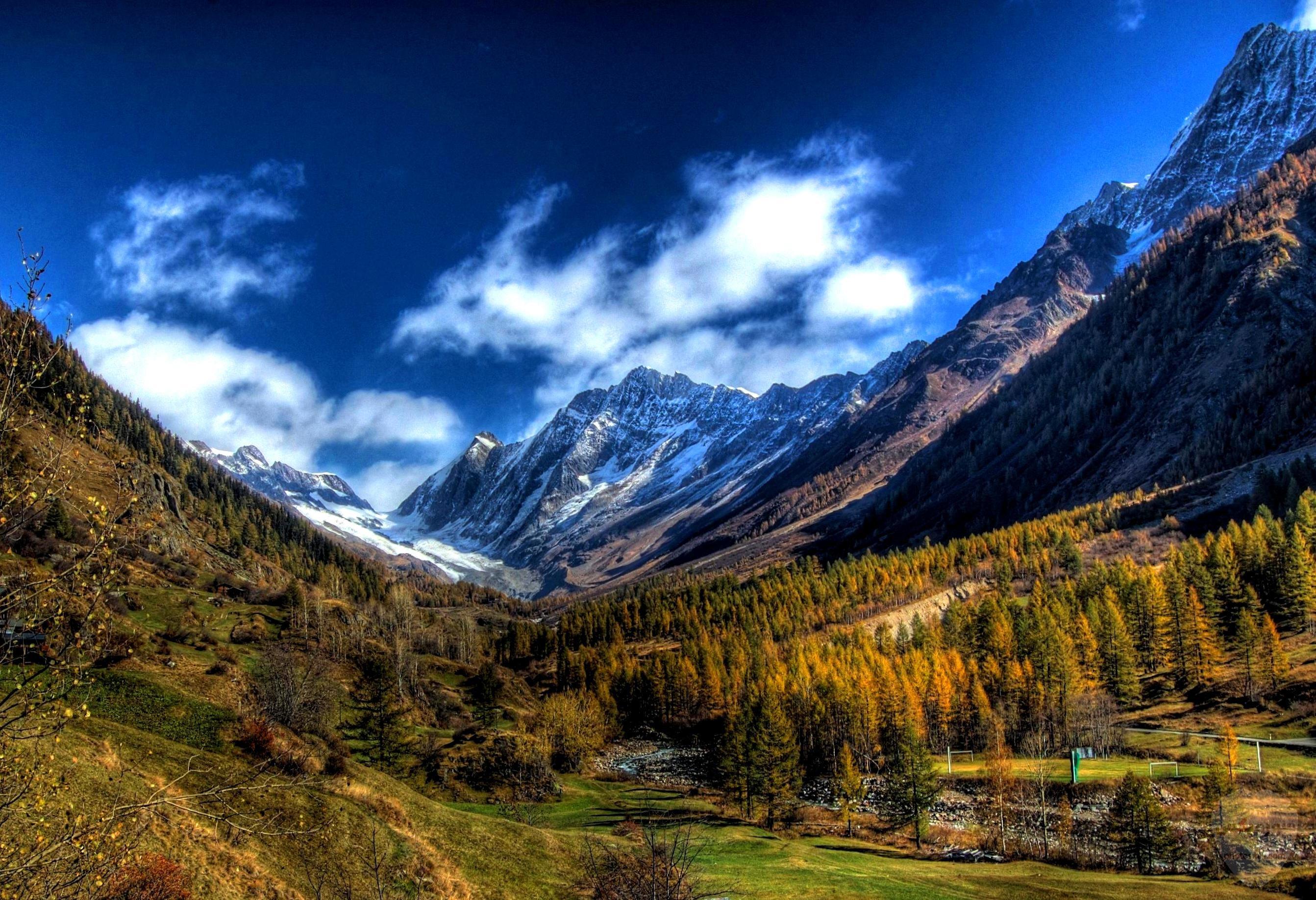 صور وخلفيات جبال وشلالات طبيعية HD خلفيات جبال خضراء وثلجية 8