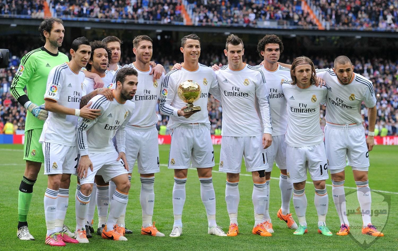 لاعبين ريال مدريد