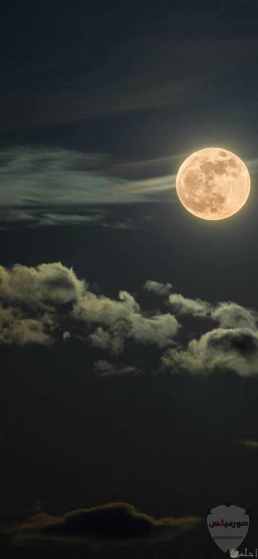 والنجوم خلفيات قمر للايفون خلفيات ضوء القمر 11