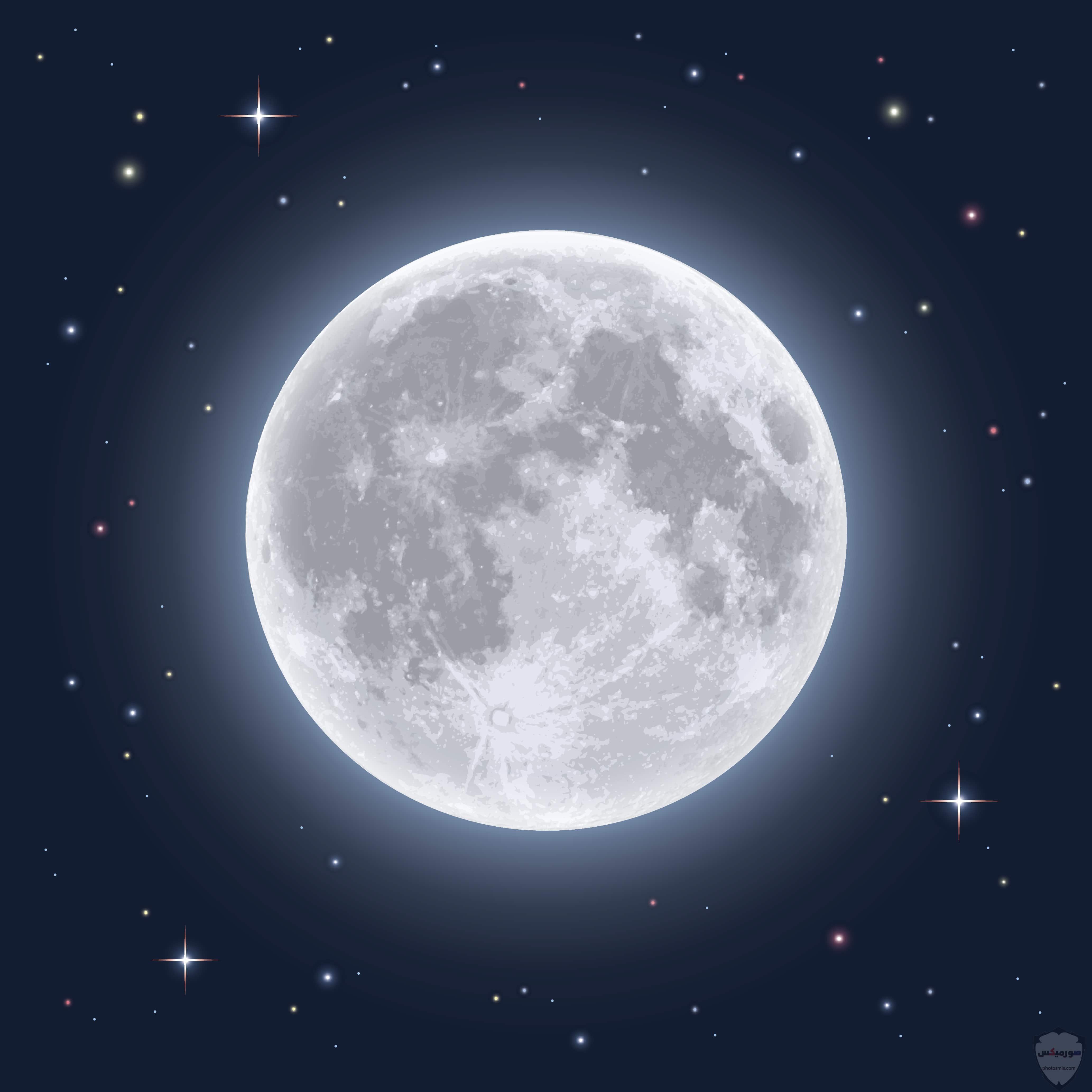 والنجوم خلفيات قمر للايفون خلفيات ضوء القمر 8