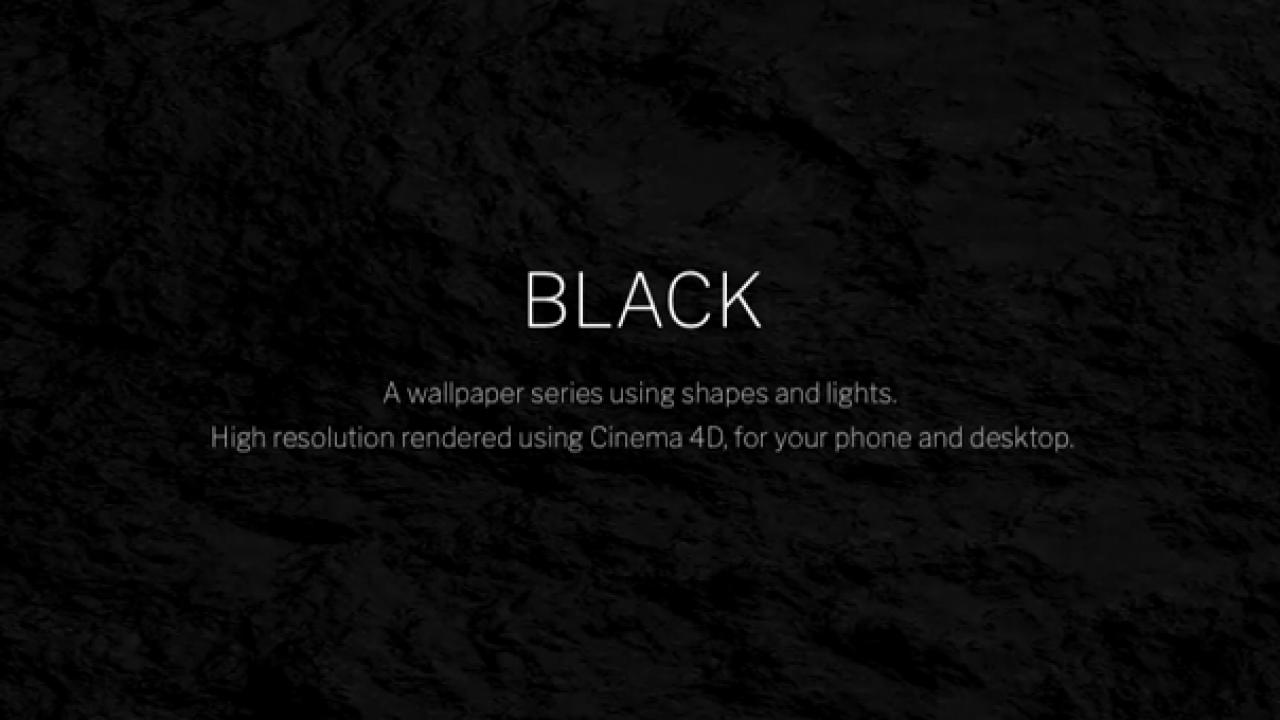 خلفيات سوداء HD 4k 1