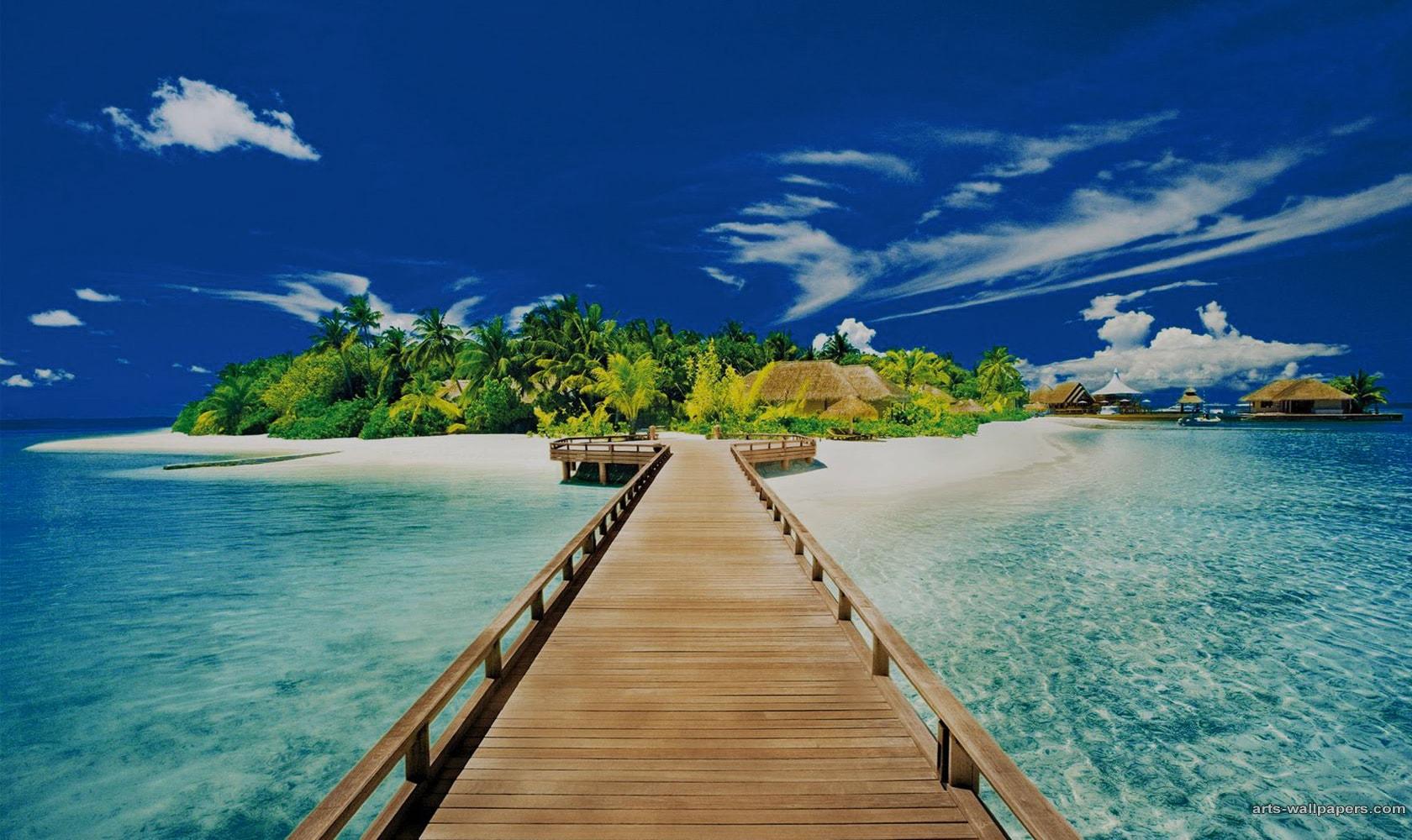 اجمل شاطئ في العالم 1