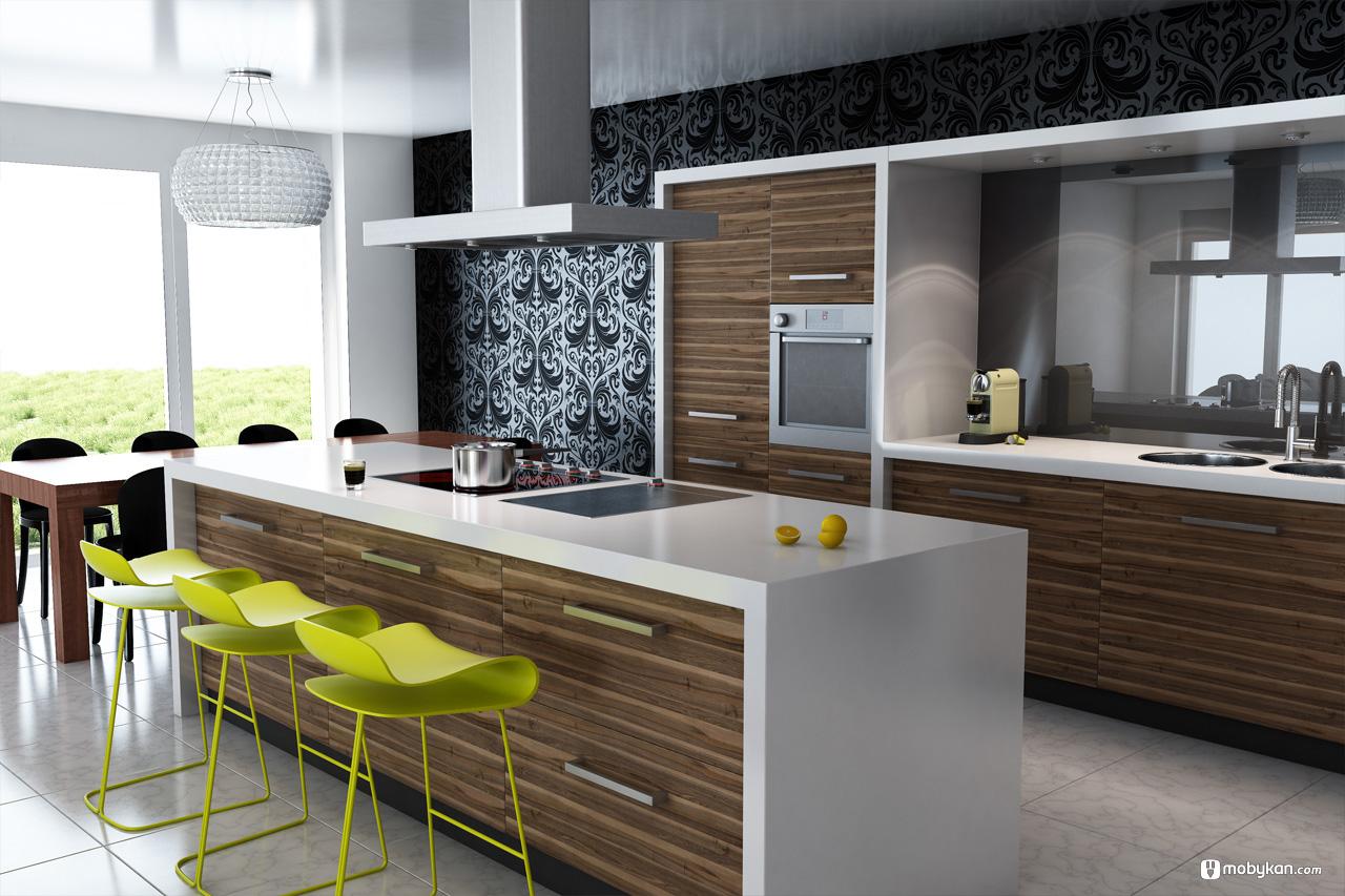 احدث أشكال المطابخ 2020 تصميمات مطابخ جديدة مطابخ المويتال جميلة 10