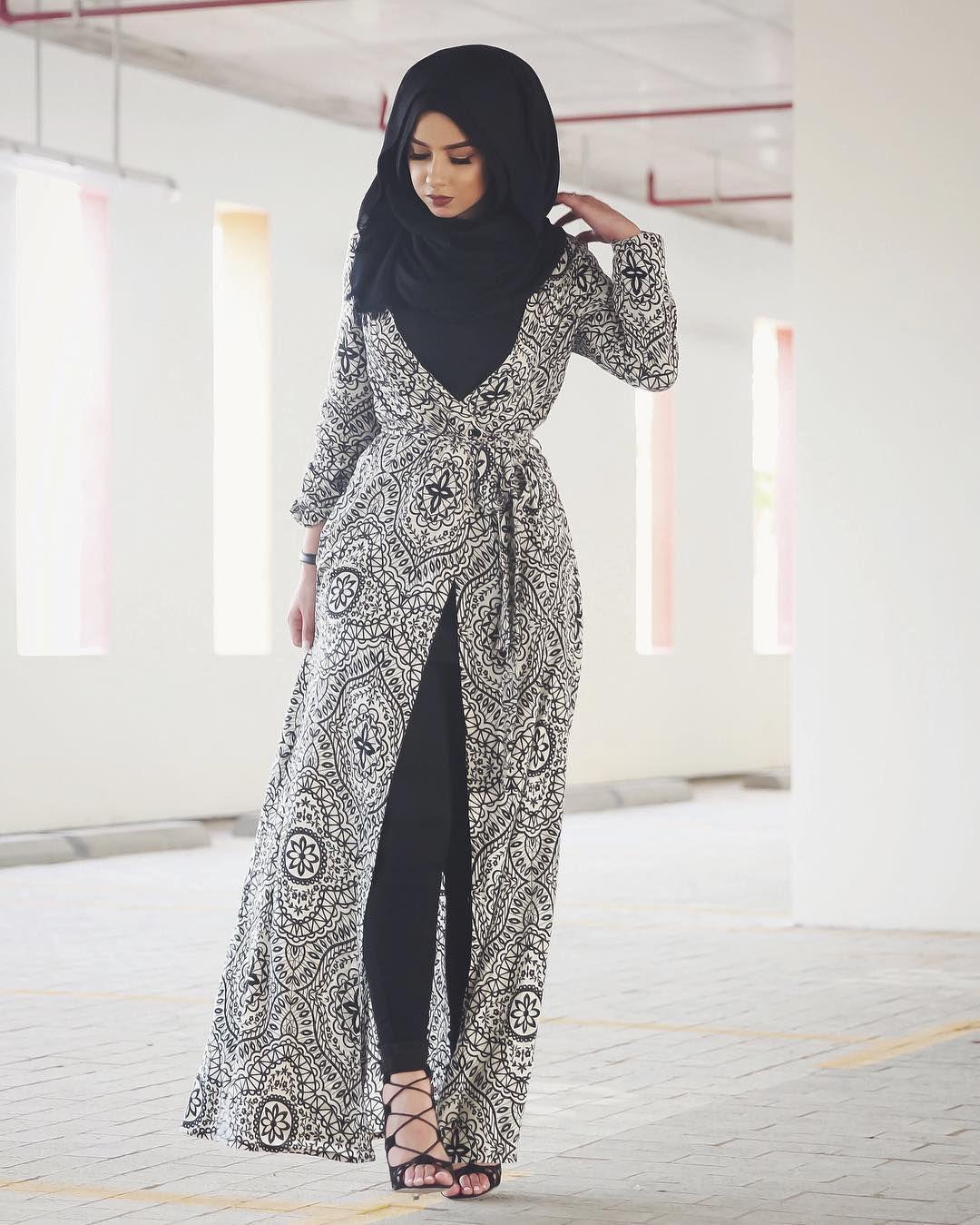 ازياء بنات محجبات 2020 ازياء محجبات احدث ستايلات حجاب 13