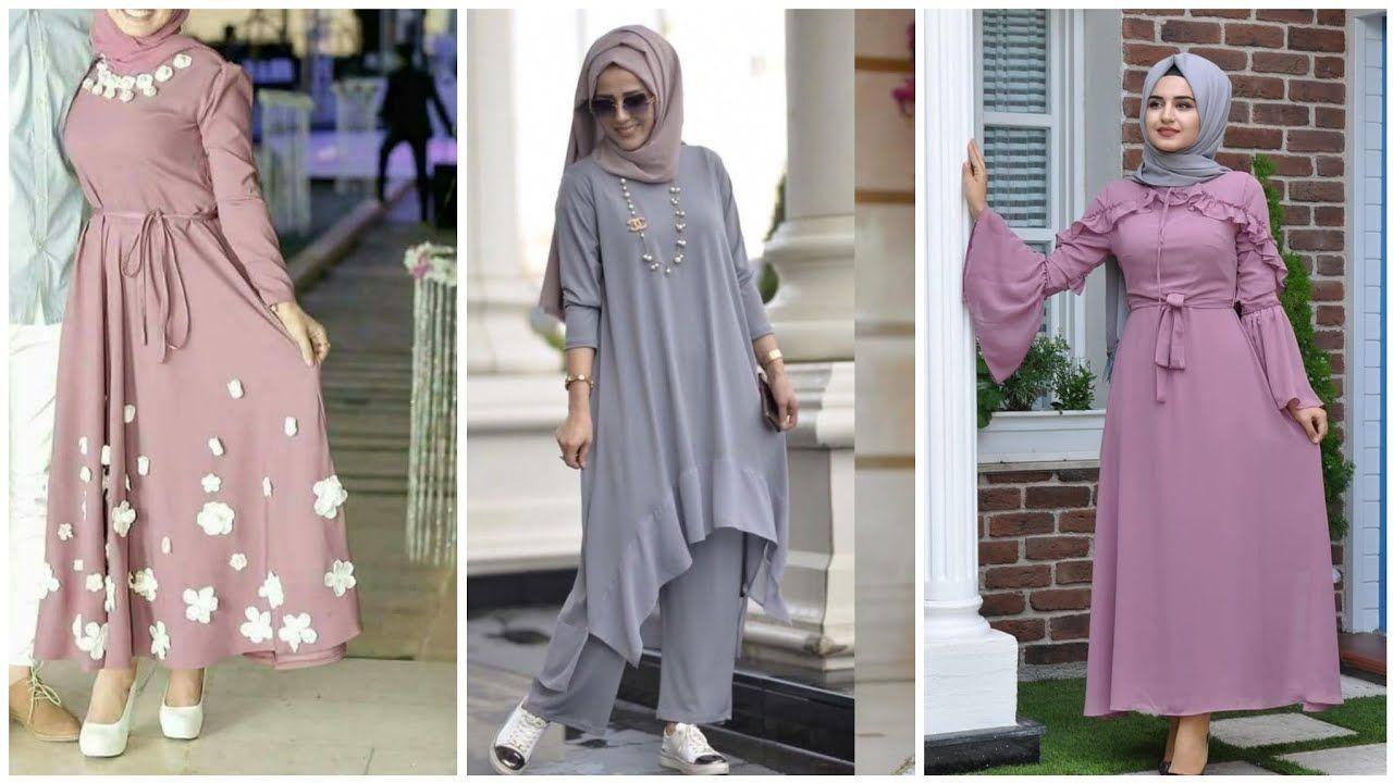 ازياء بنات محجبات 2020 ازياء محجبات احدث ستايلات حجاب 25